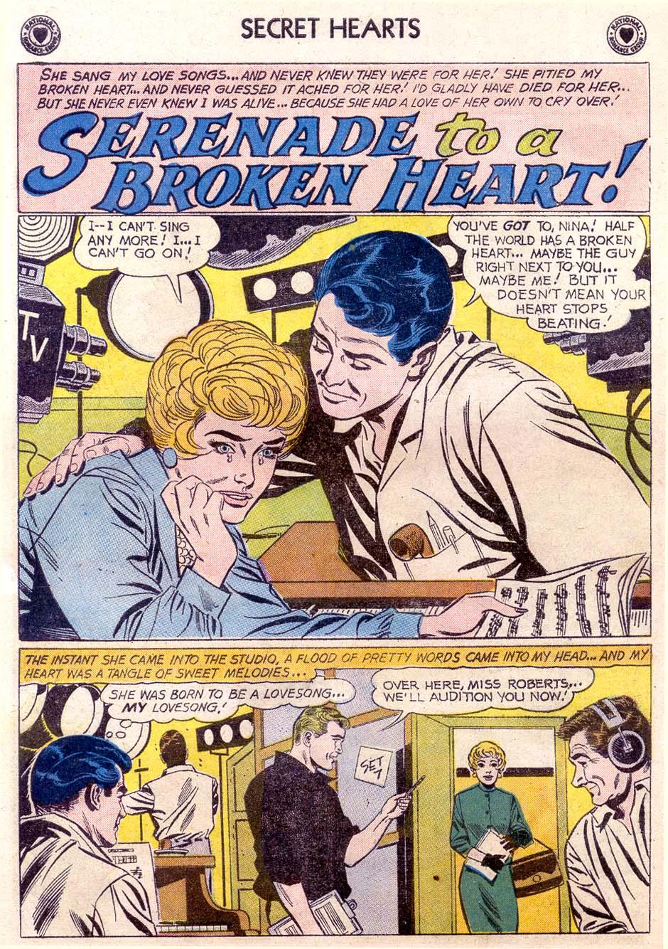 Read online Secret Hearts comic -  Issue #65 - 8