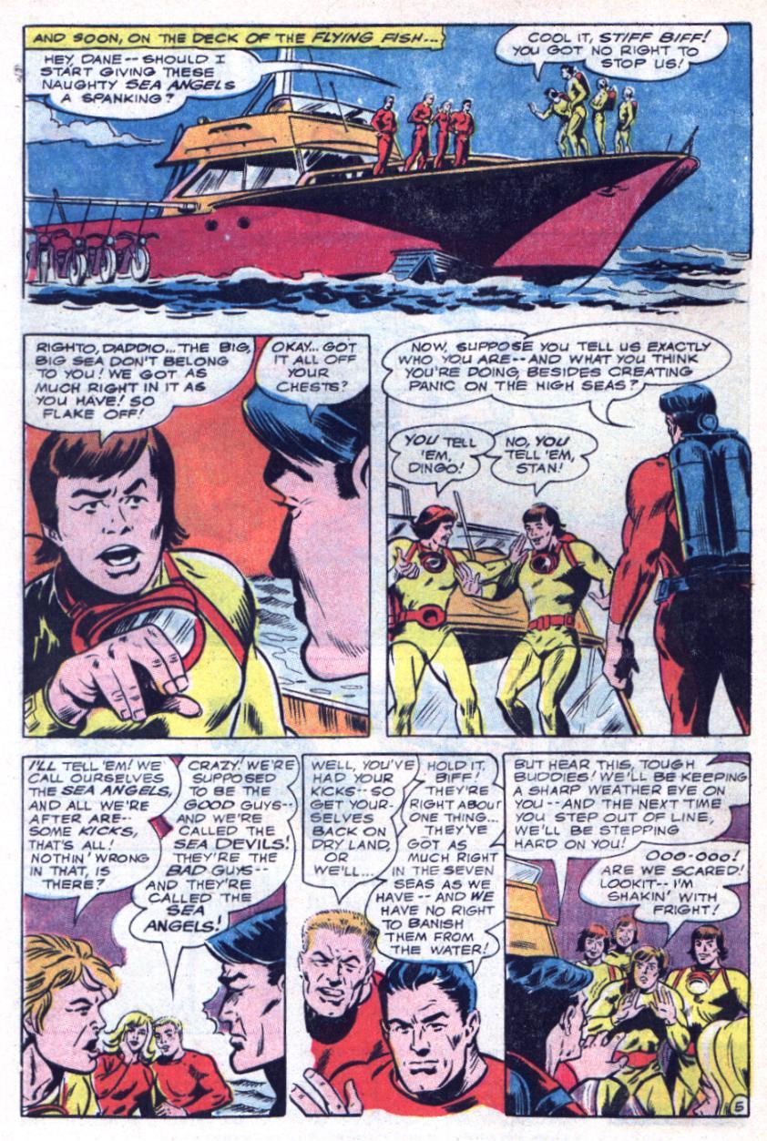 Read online Sea Devils comic -  Issue #34 - 9