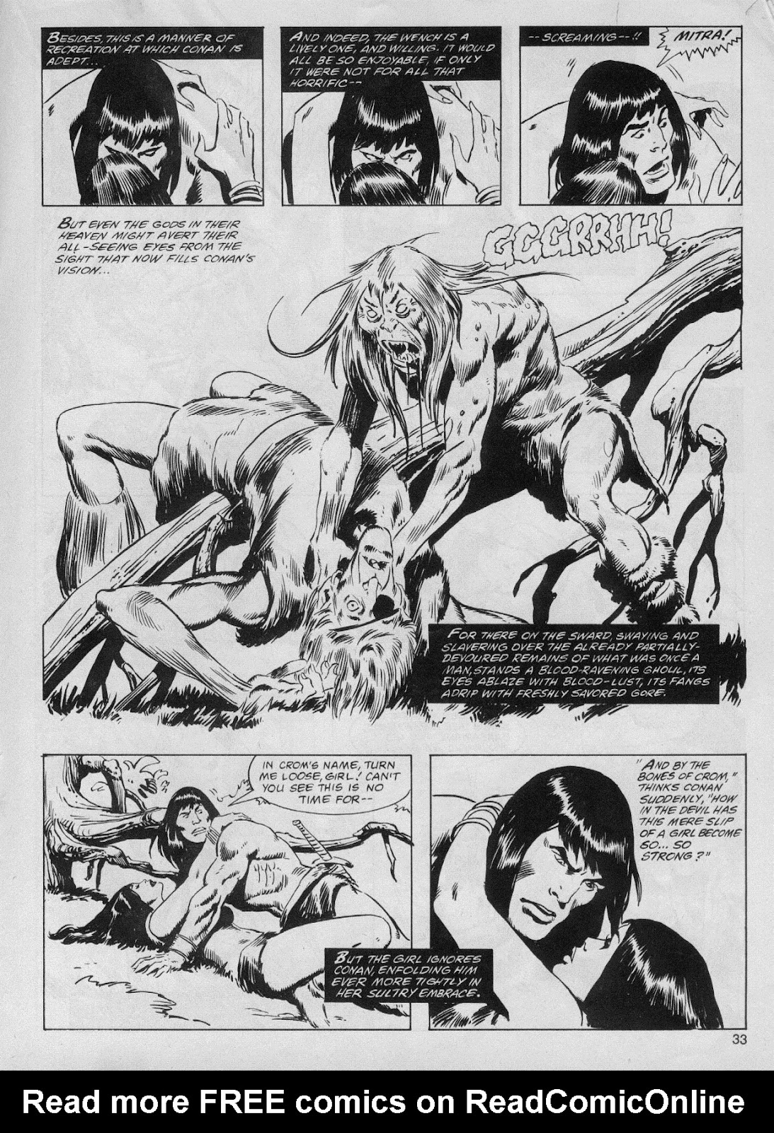 The Savage Sword Of Conan Issue #61 #62 - English 33