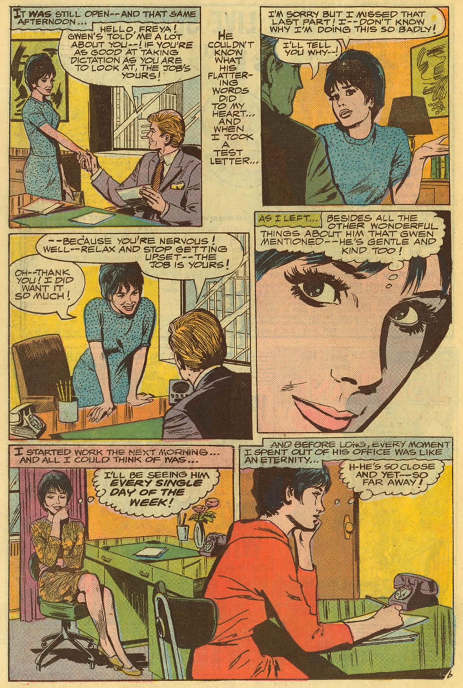 Read online Secret Hearts comic -  Issue #139 - 26