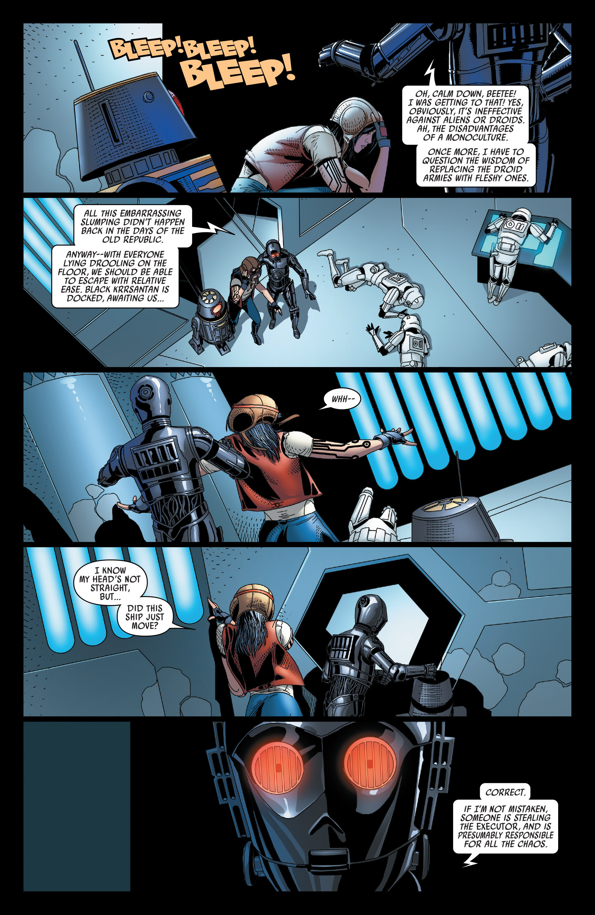 Read online Darth Vader comic -  Issue #23 - 4