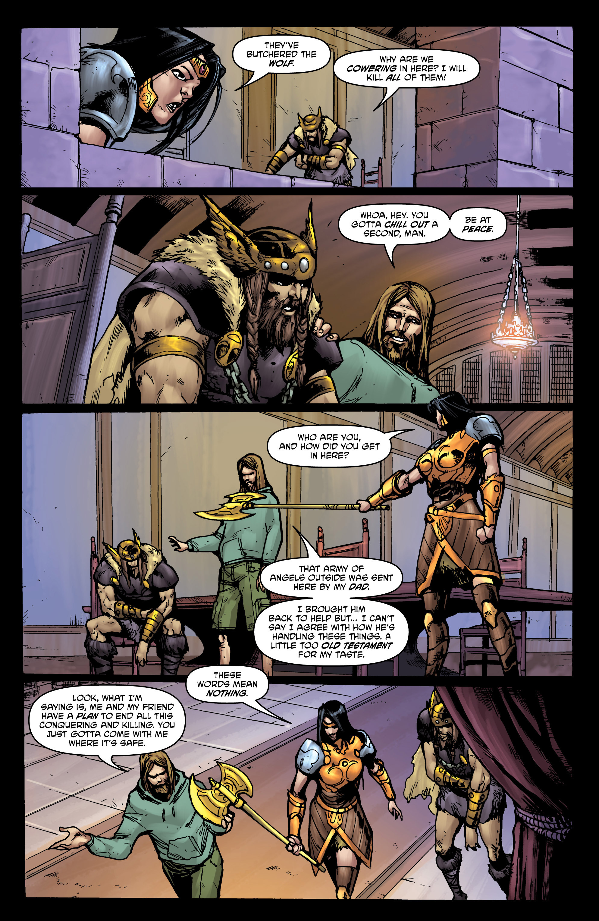 Read online God Is Dead comic -  Issue #44 - 15