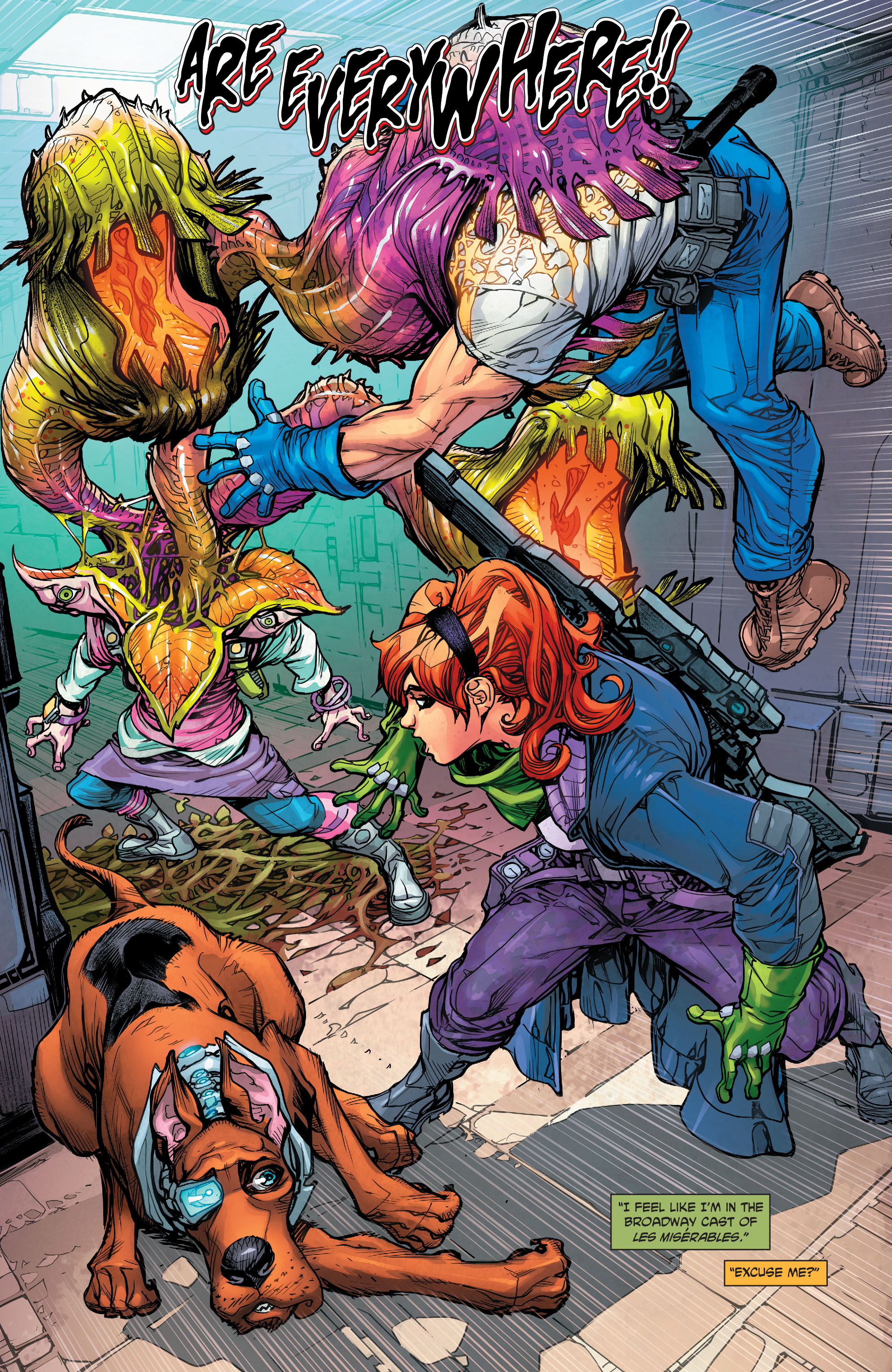 Read online Scooby Apocalypse comic -  Issue #5 - 15