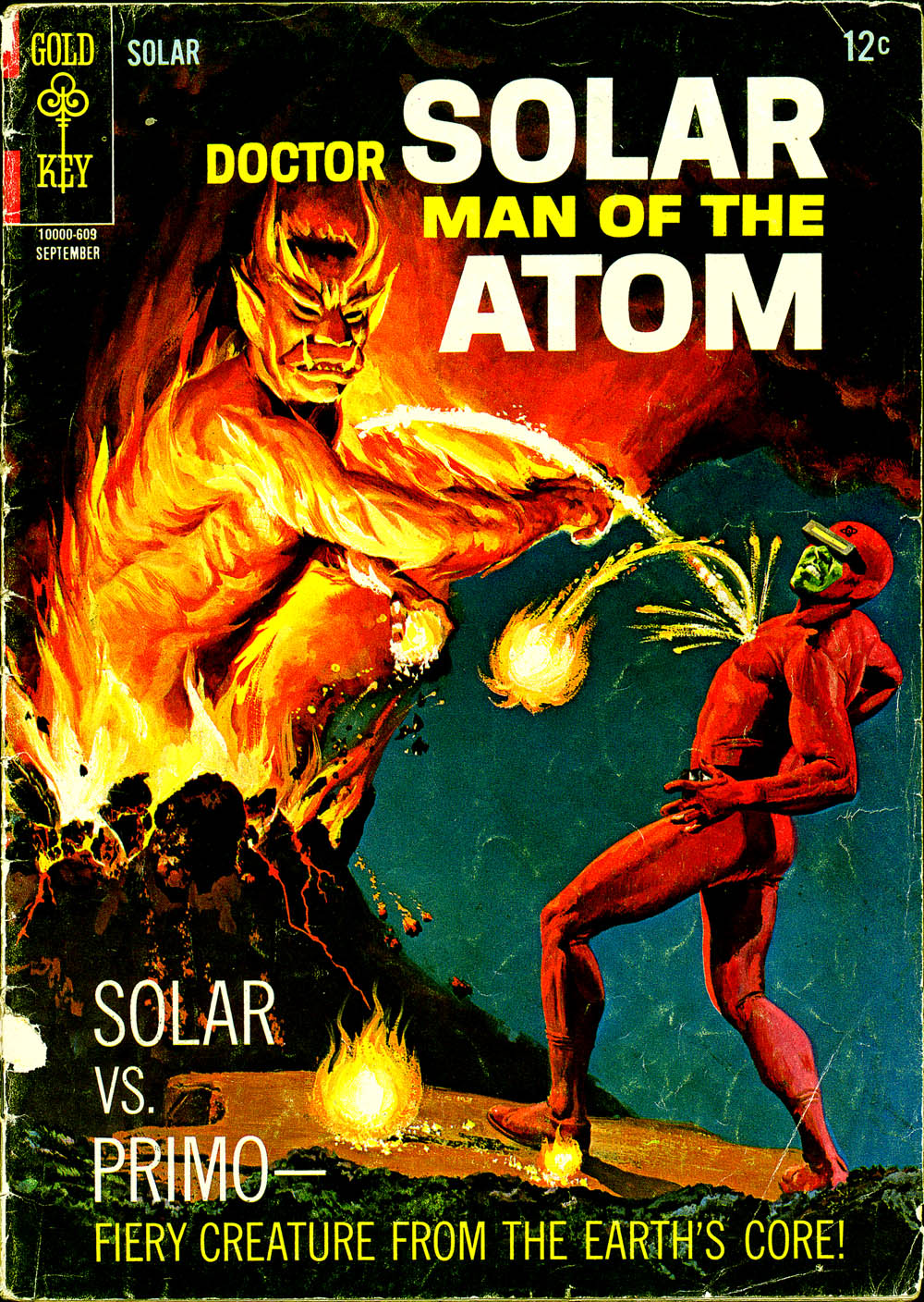 Doctor Solar, Man of the Atom (1962) 17 Page 1