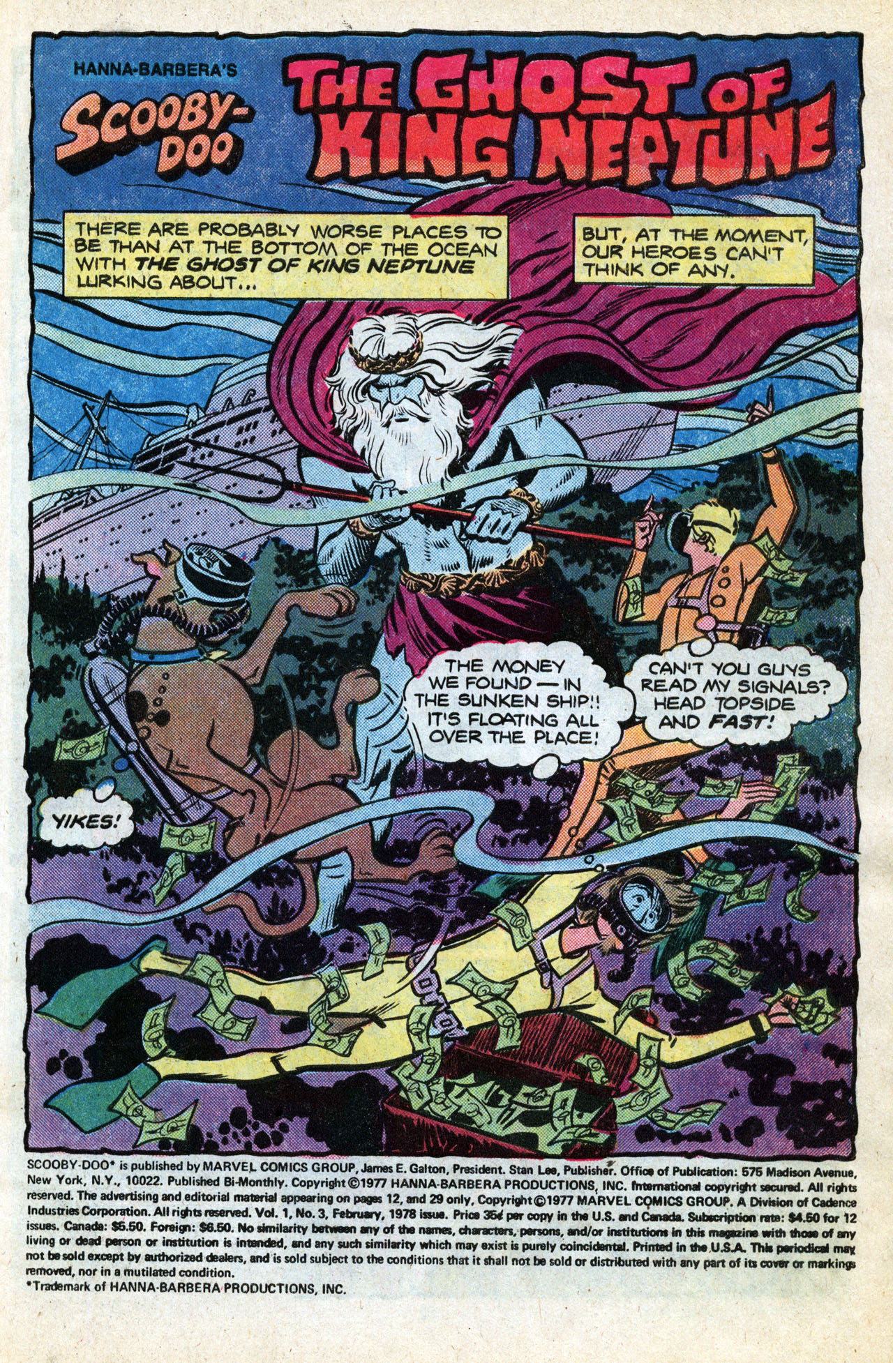 Read online Scooby-Doo (1977) comic -  Issue #3 - 3