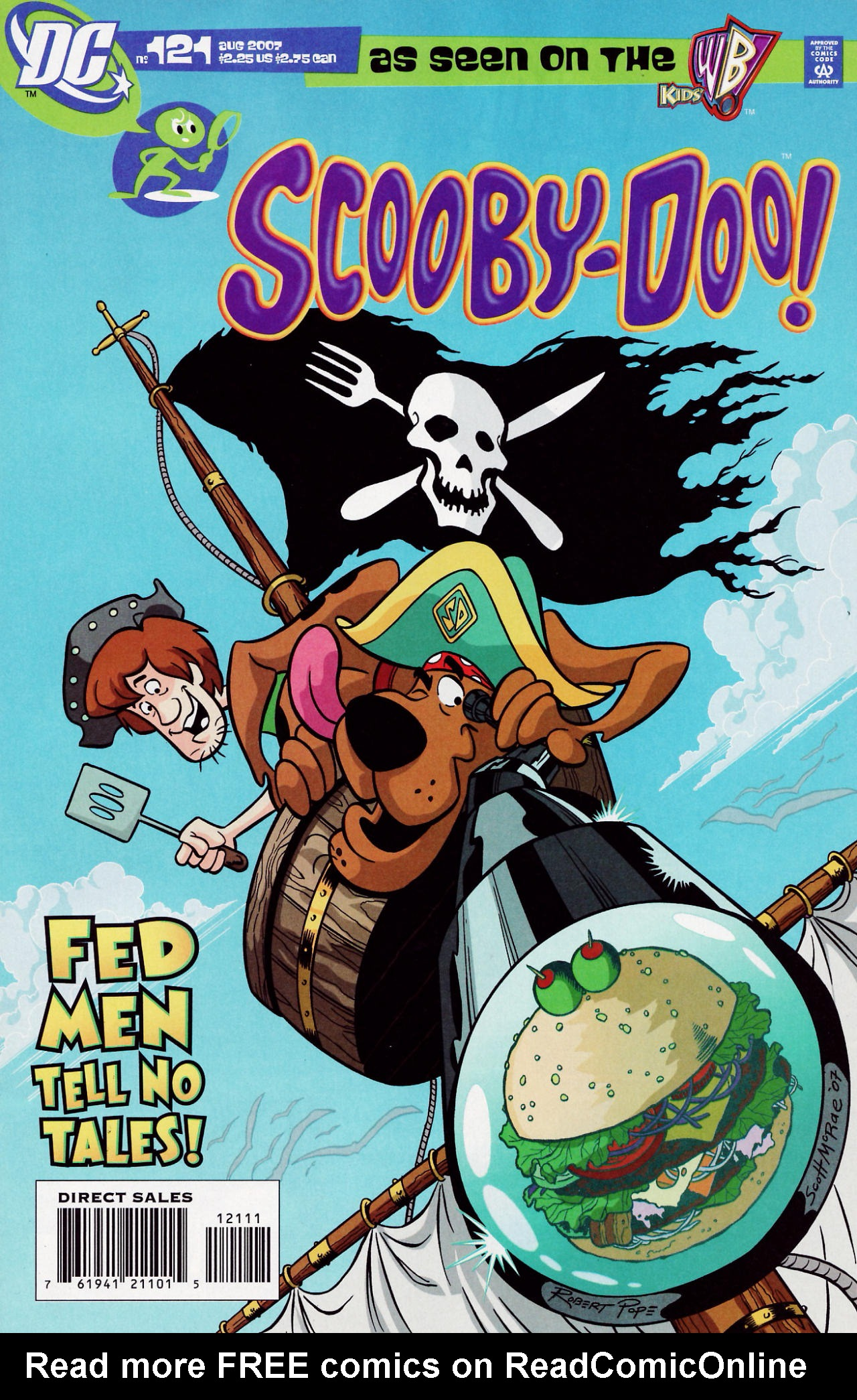 Read online Scooby-Doo (1997) comic -  Issue #121 - 1