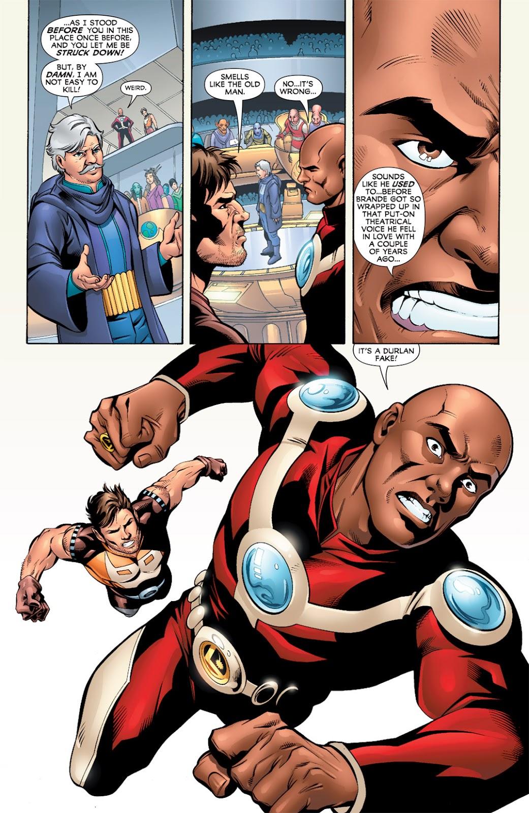 Legion of Super-Heroes (2010) Issue #9 #10 - English 16