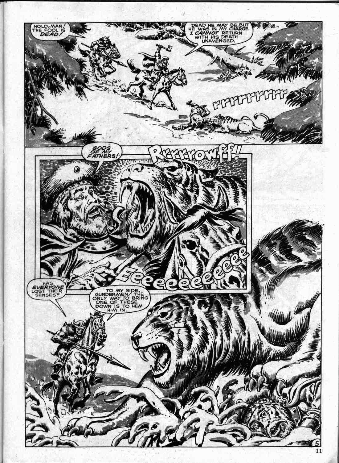 The Savage Sword Of Conan Issue #133 #134 - English 10