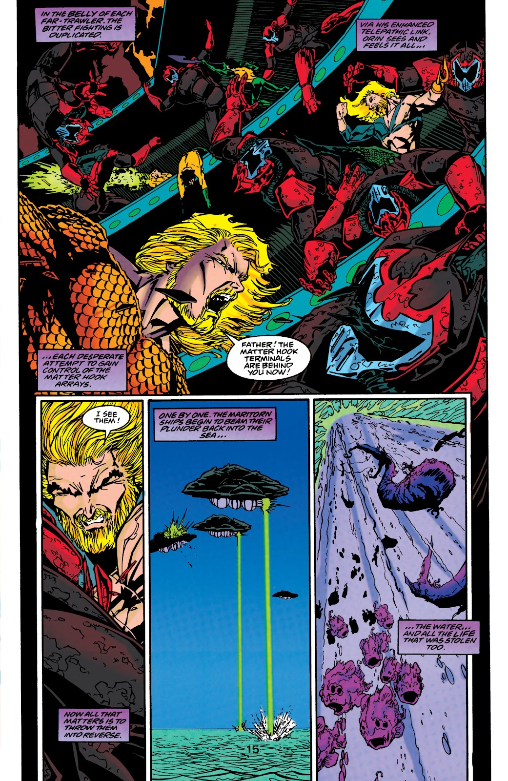 Aquaman (1994) Issue #48 #54 - English 15