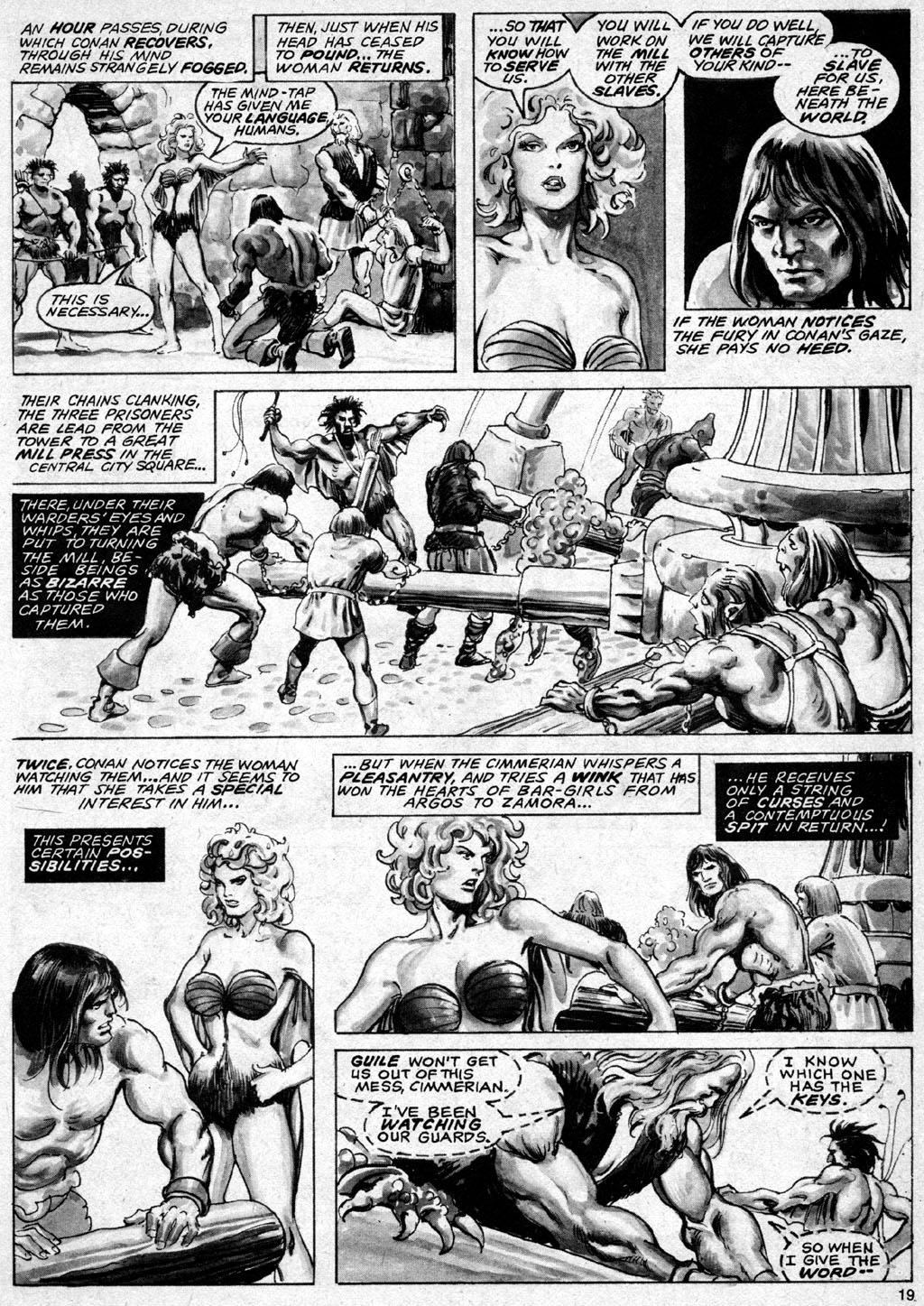 The Savage Sword Of Conan Issue #69 #70 - English 19
