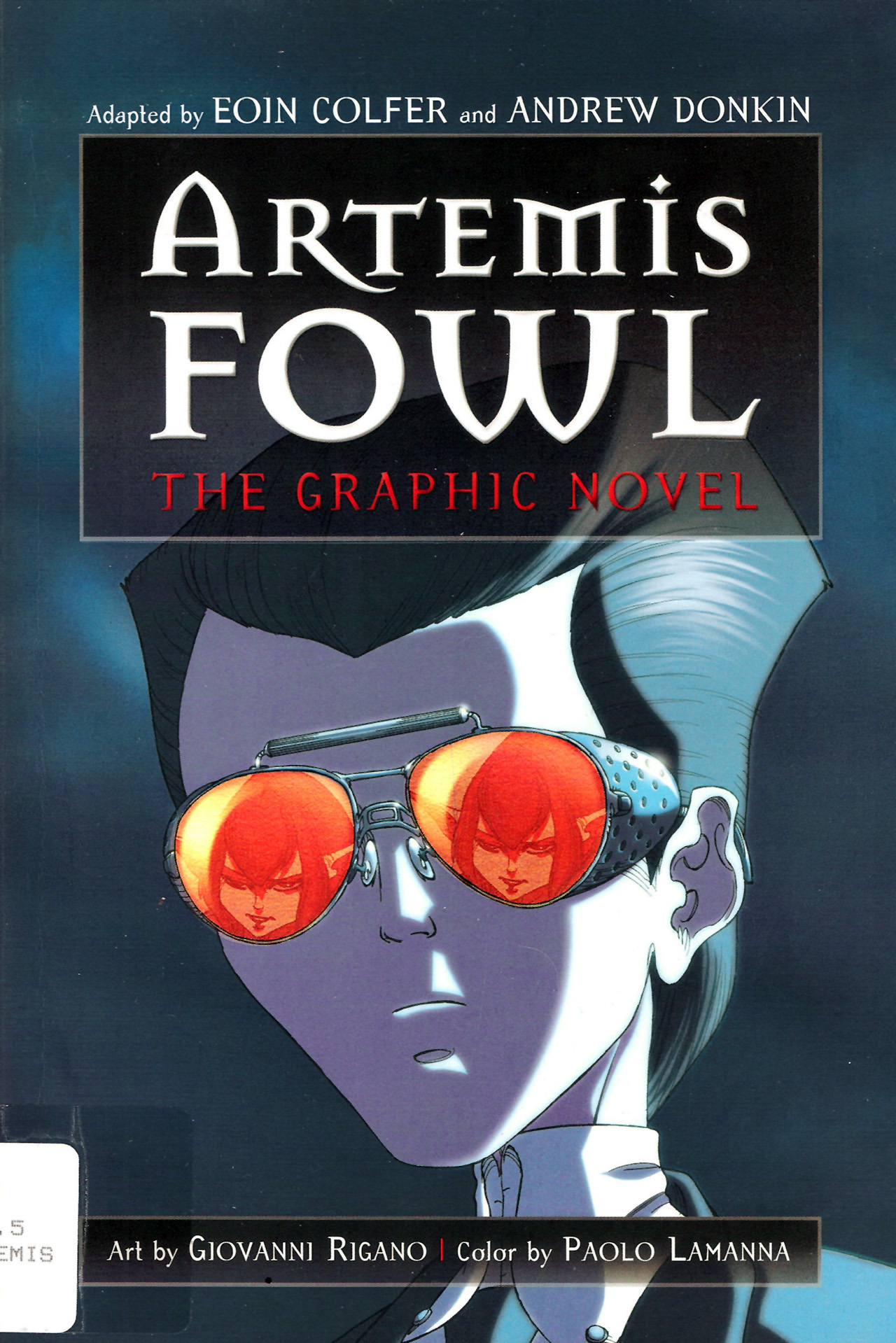 Artemis Fowl: The Graphic Novel Full Page 1