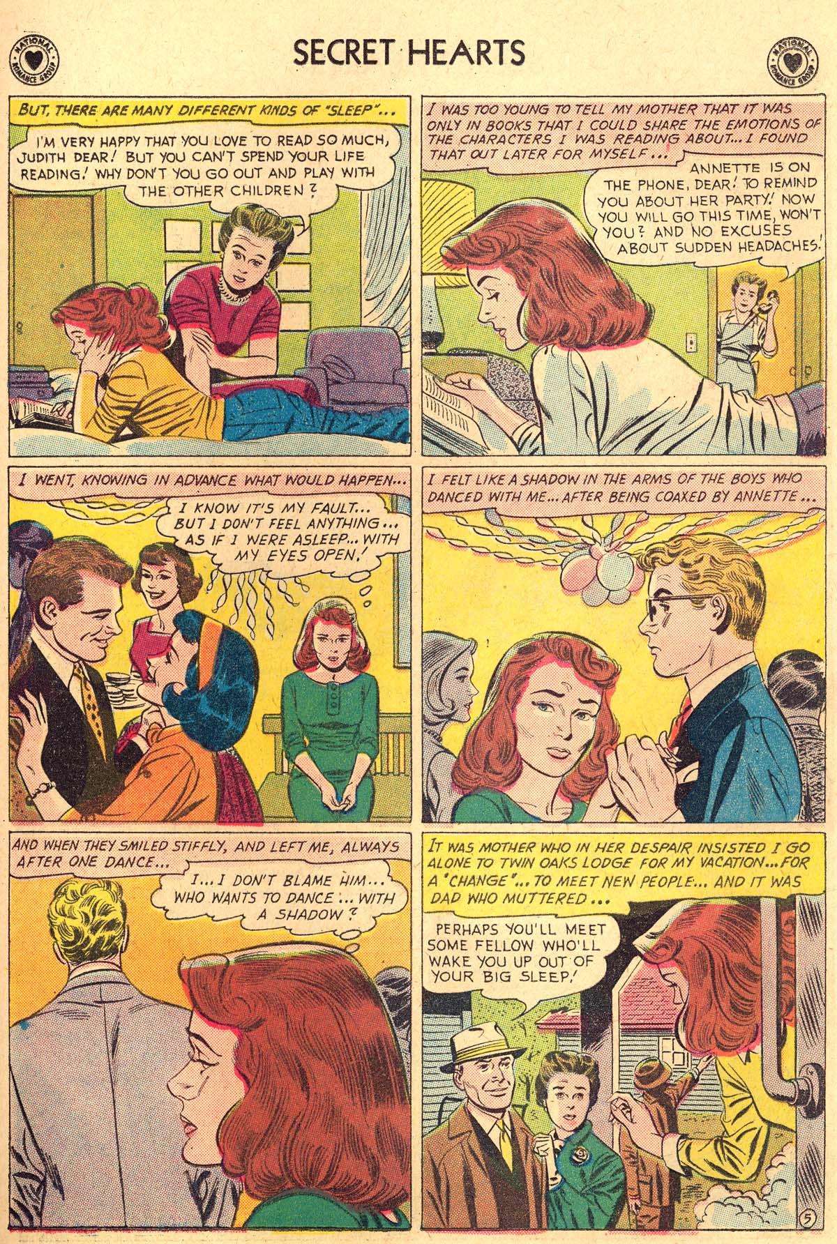 Read online Secret Hearts comic -  Issue #69 - 31