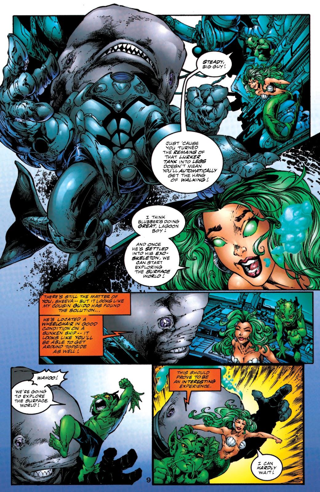 Aquaman (1994) Issue #53 #59 - English 10