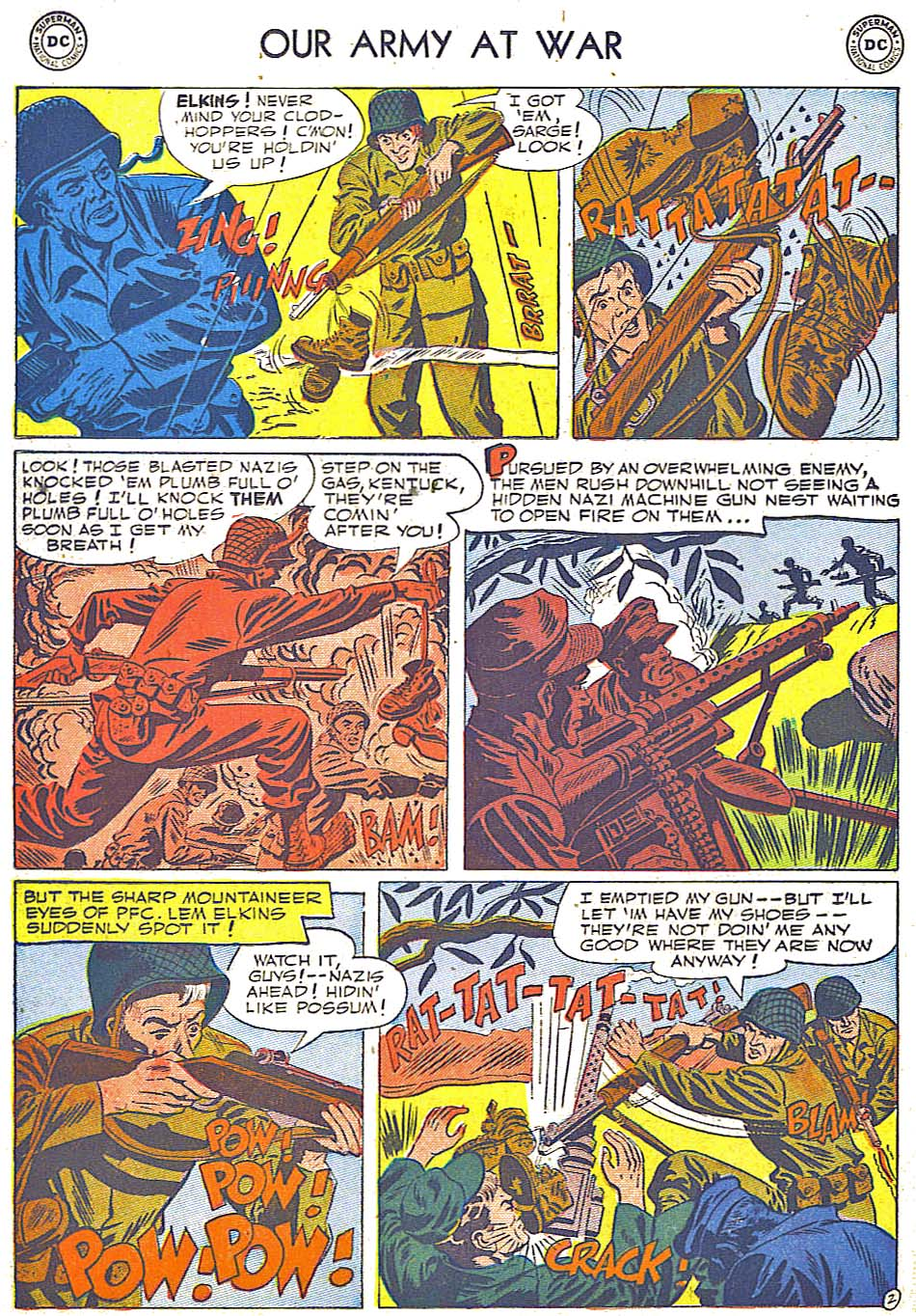 Our Army at War (1952) #1 #301 - English 22