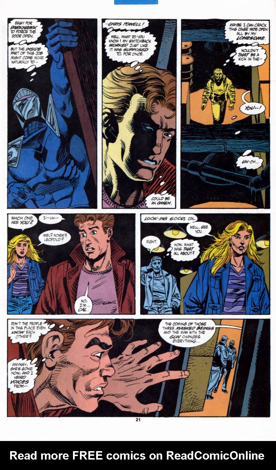 Read online Secret Defenders comic -  Issue #2 - 18