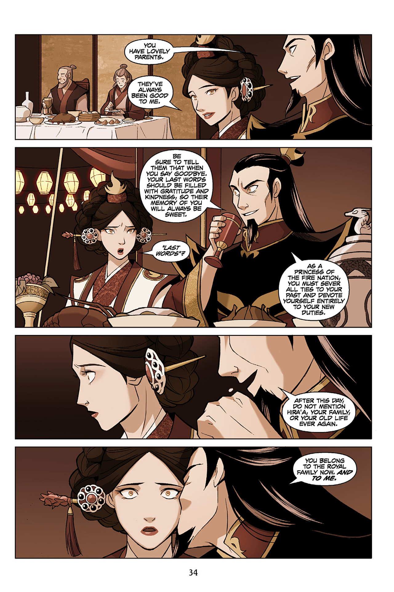 Read online Nickelodeon Avatar: The Last Airbender - The Search comic -  Issue # Part 1 - 35