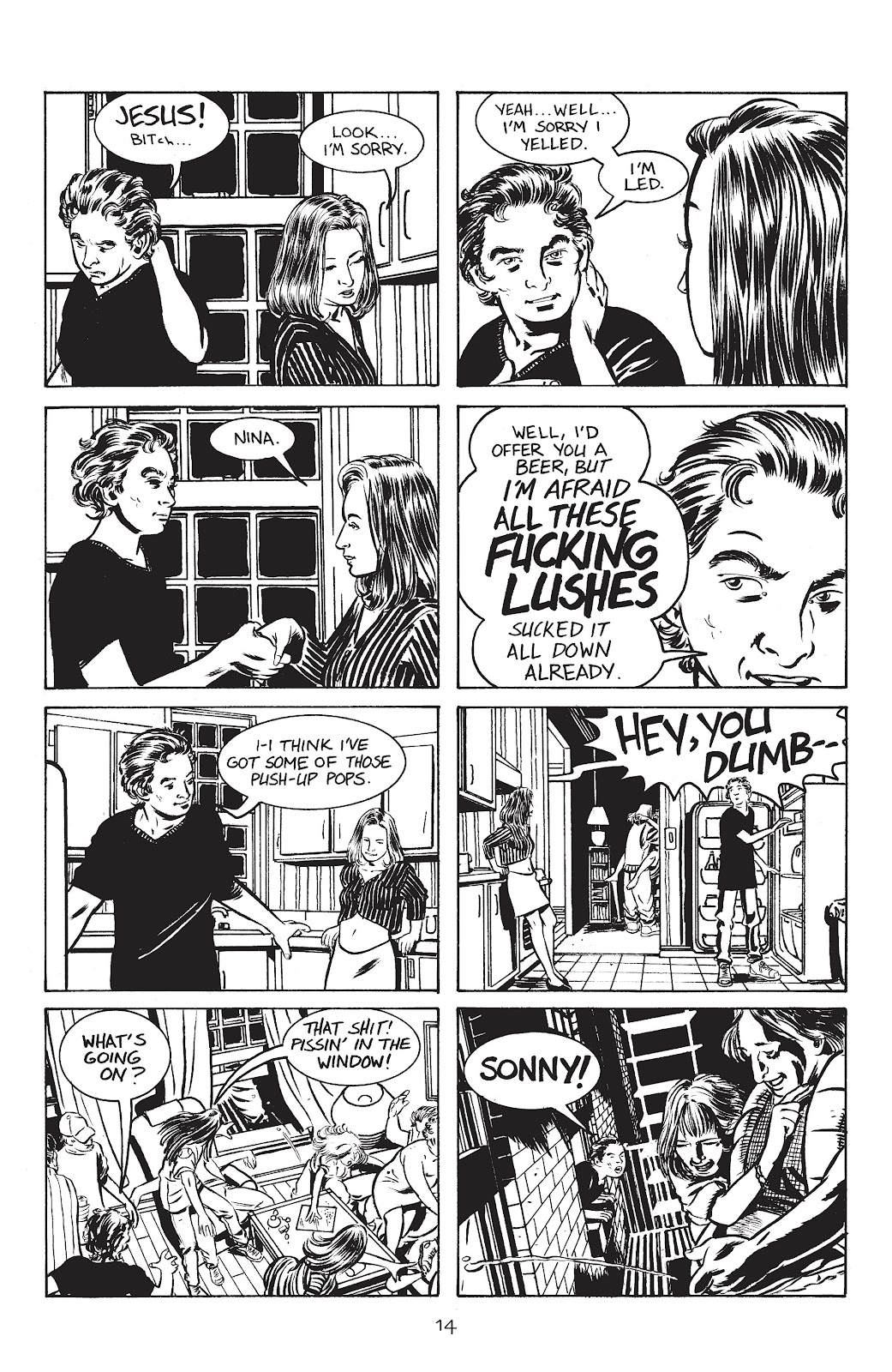 Stray Bullets Issue #3 #3 - English 16