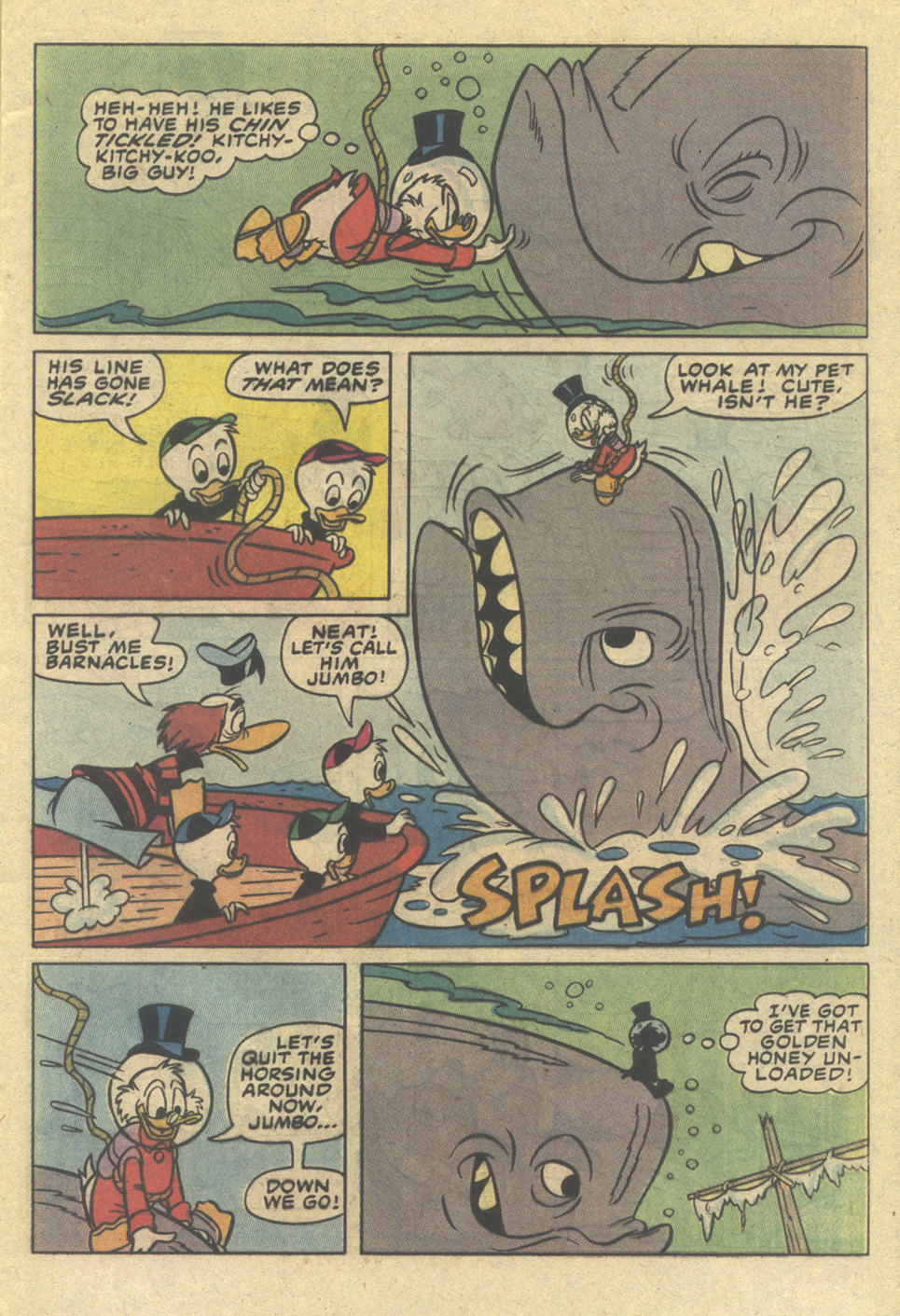 Uncle Scrooge (1953) Issue #206 #206 - English 9