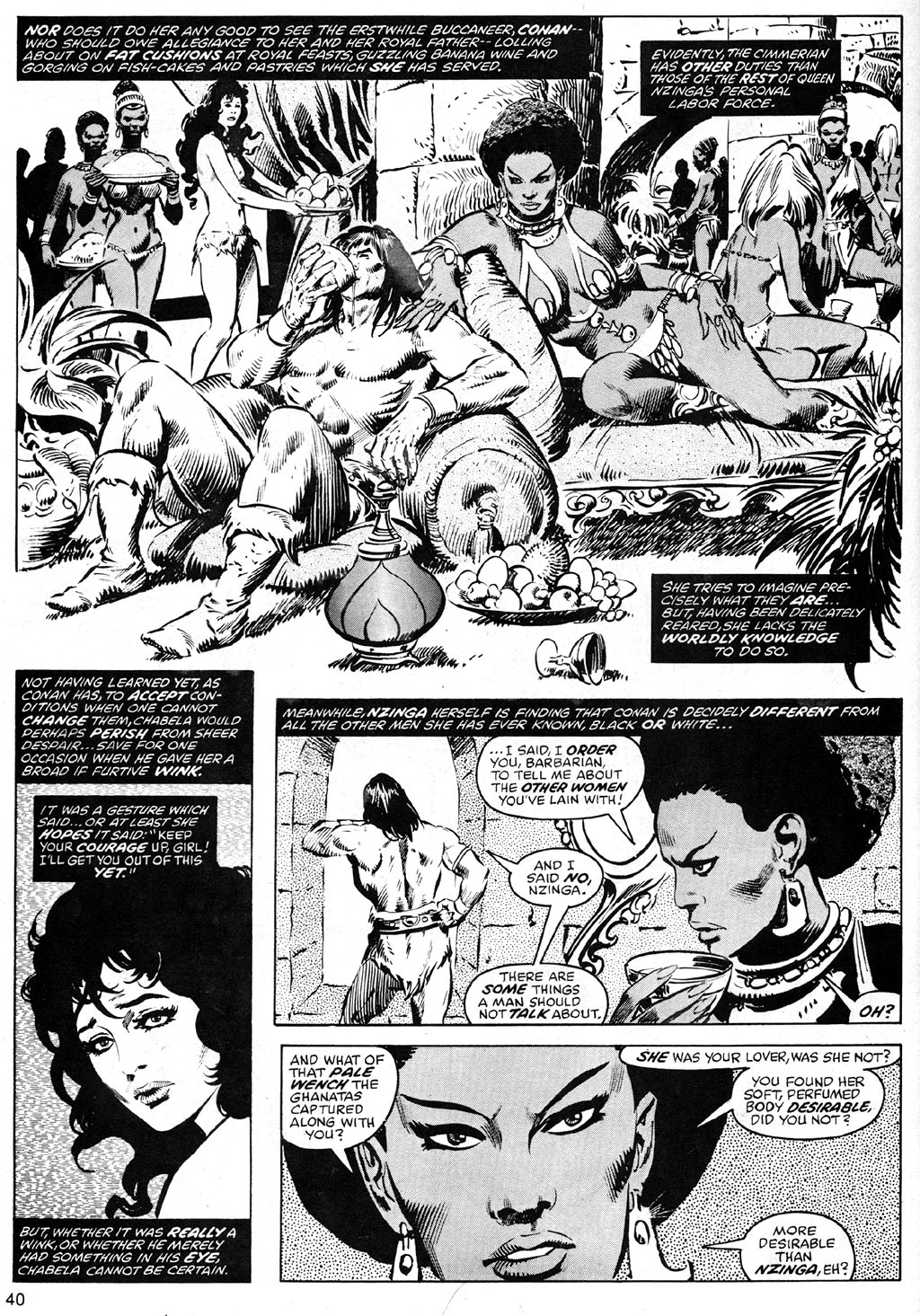 The Savage Sword Of Conan Issue #41 #42 - English 40