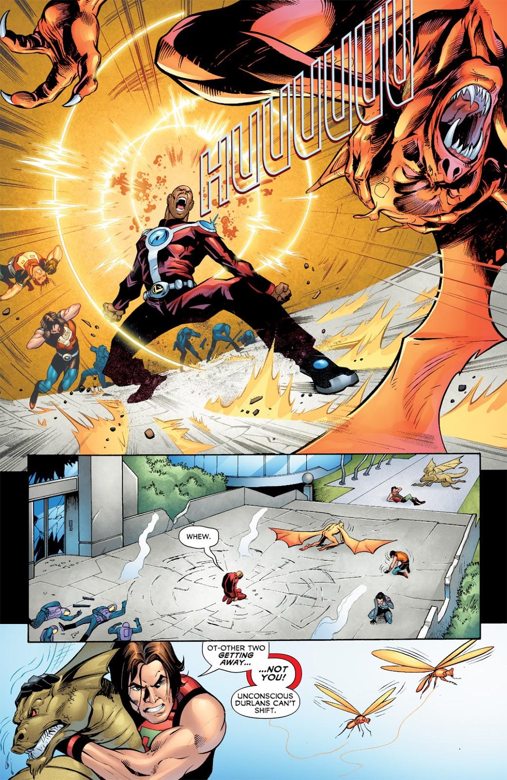 Legion of Super-Heroes (2010) Issue #7 #8 - English 17