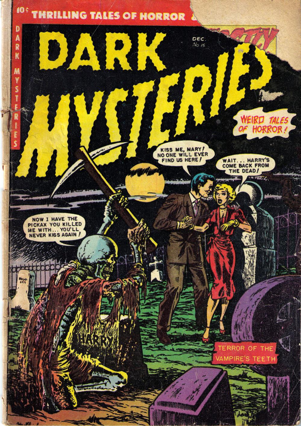 Dark Mysteries 15 Page 1