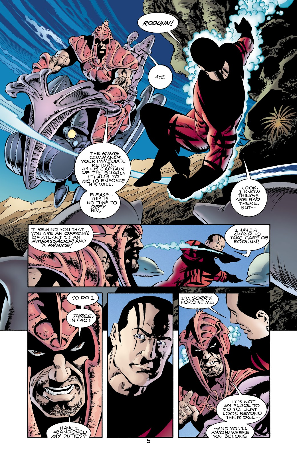 Aquaman (1994) Issue #65 #71 - English 6