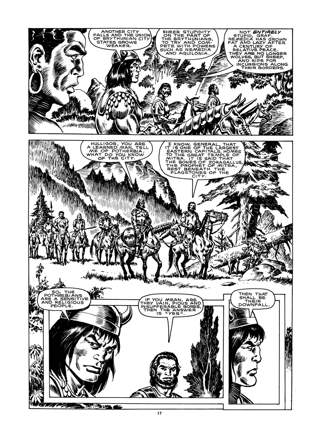 The Savage Sword Of Conan Issue #148 #149 - English 17