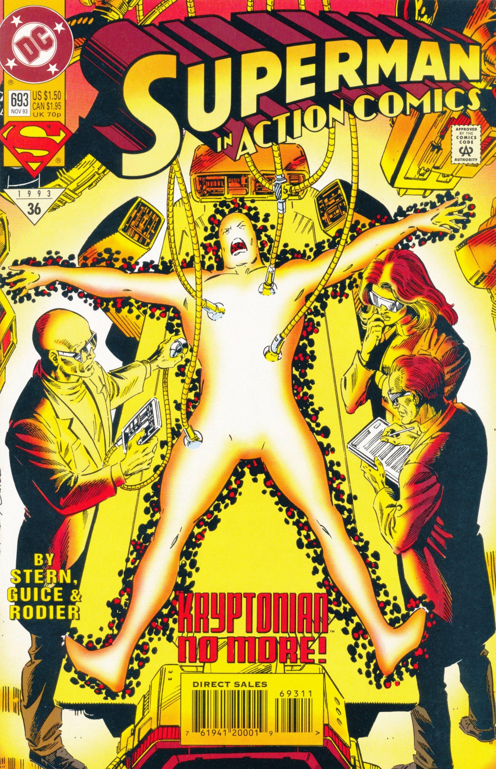 Action Comics (1938) 693 Page 1