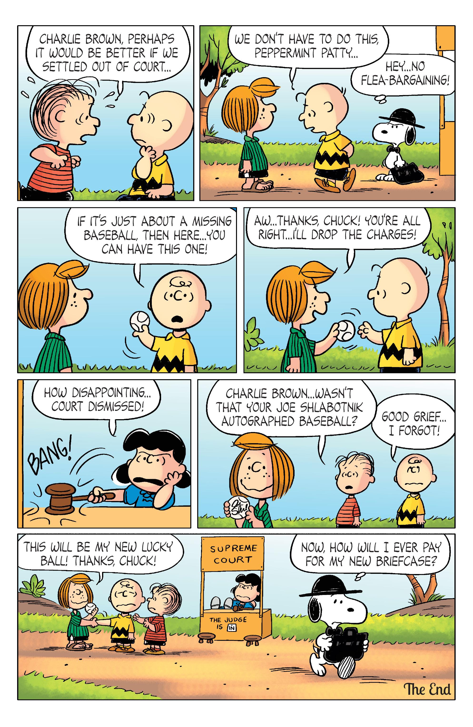 Read online Peanuts (2012) comic -  Issue #20 - 23