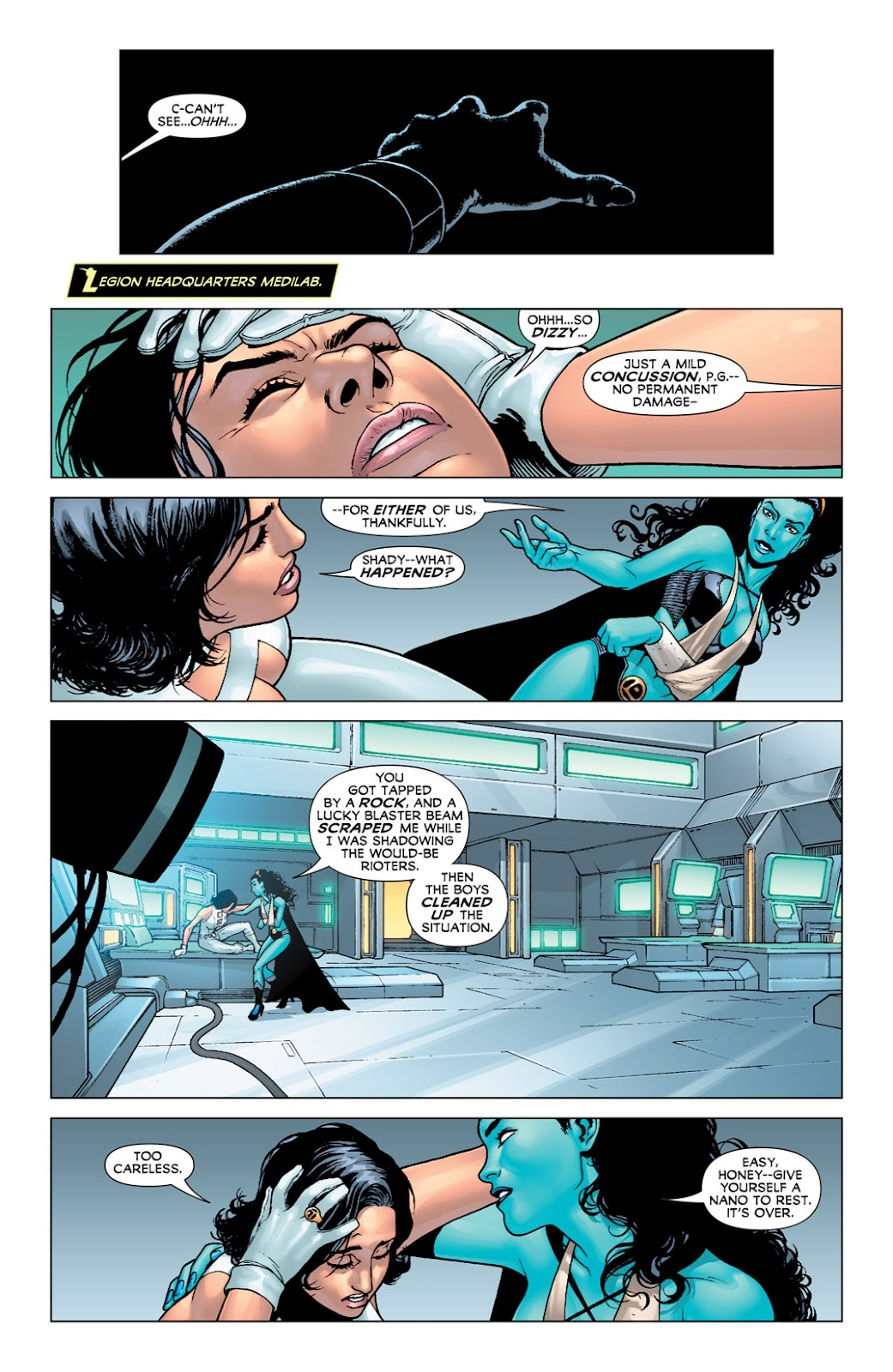 Legion of Super-Heroes (2010) Issue #2 #3 - English 27
