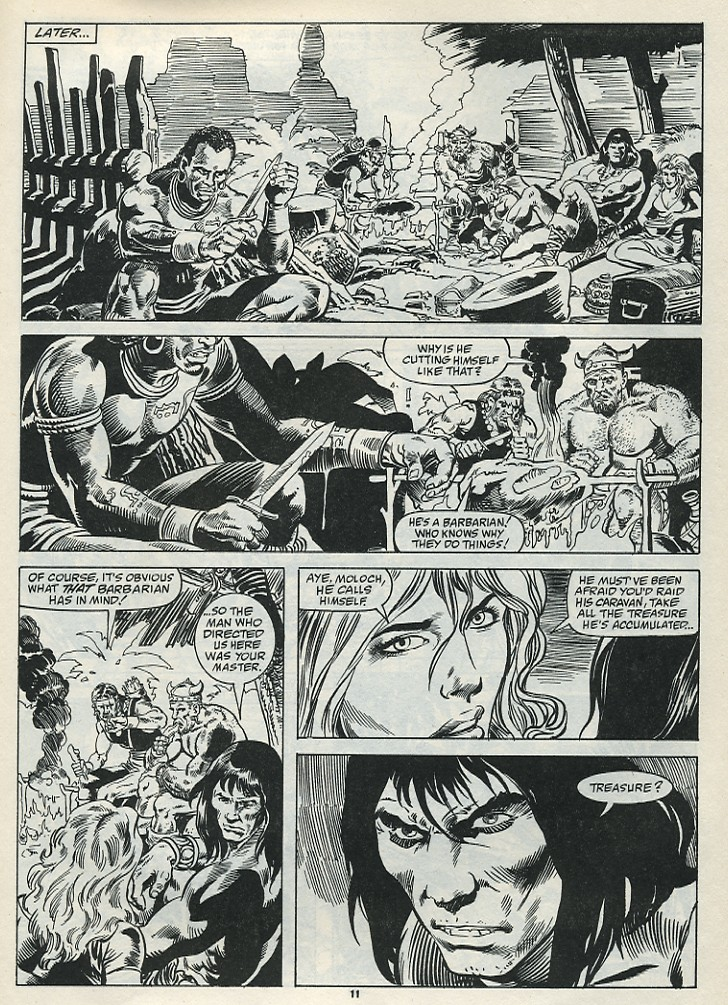 The Savage Sword Of Conan Issue #182 #183 - English 13