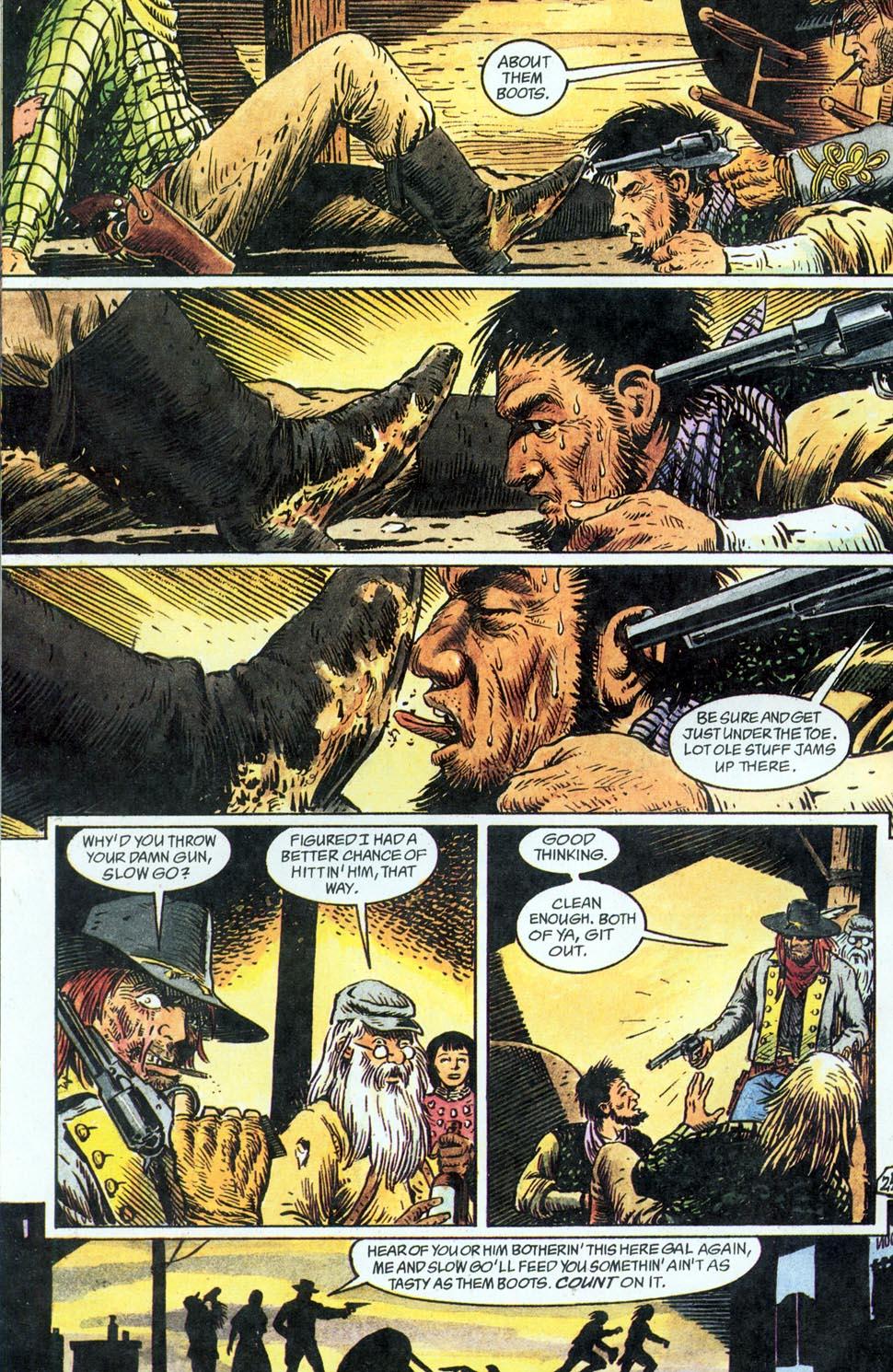 Jonah Hex: Two-Gun Mojo Issue #1 #1 - English 26
