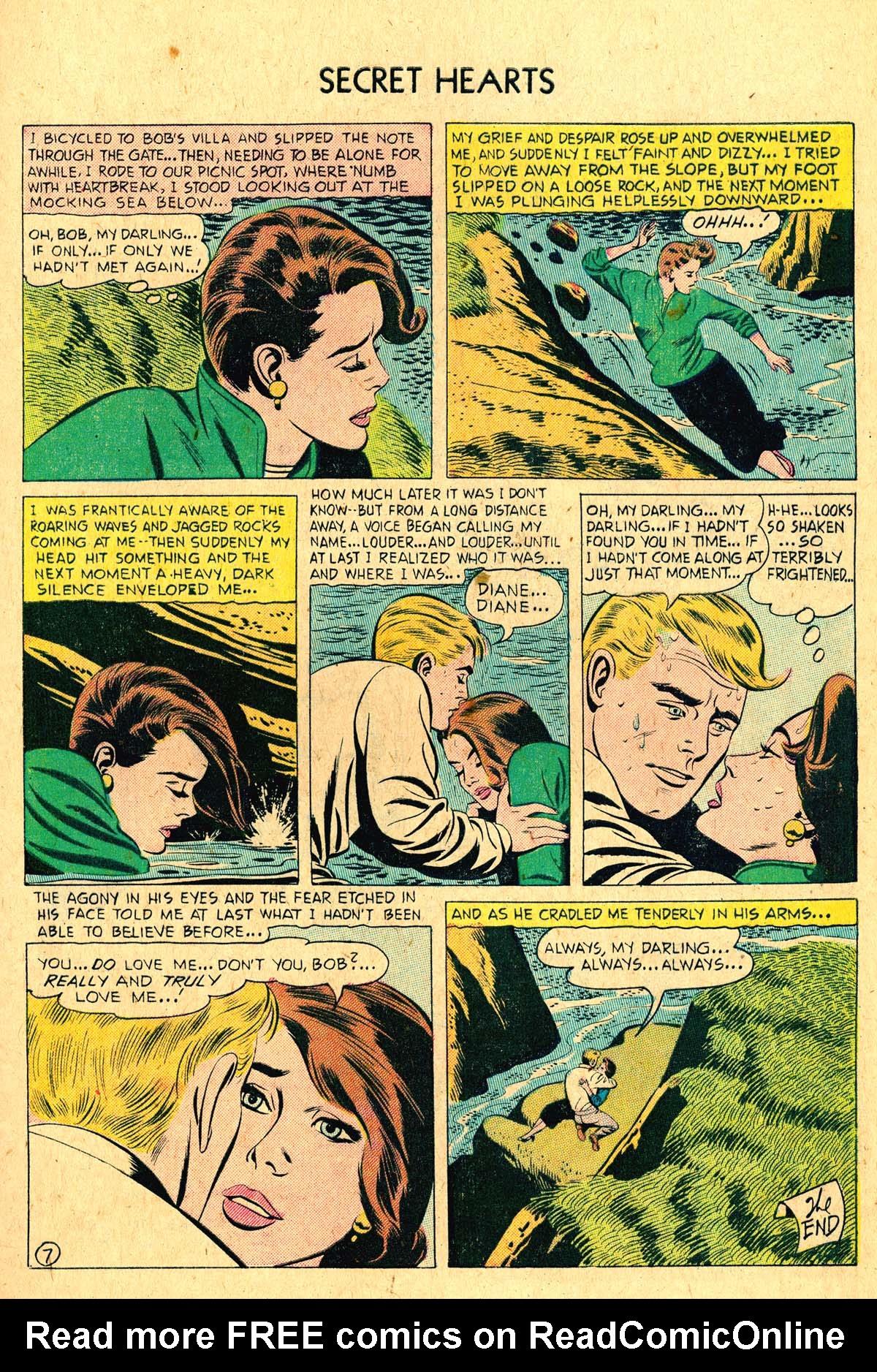 Read online Secret Hearts comic -  Issue #36 - 9