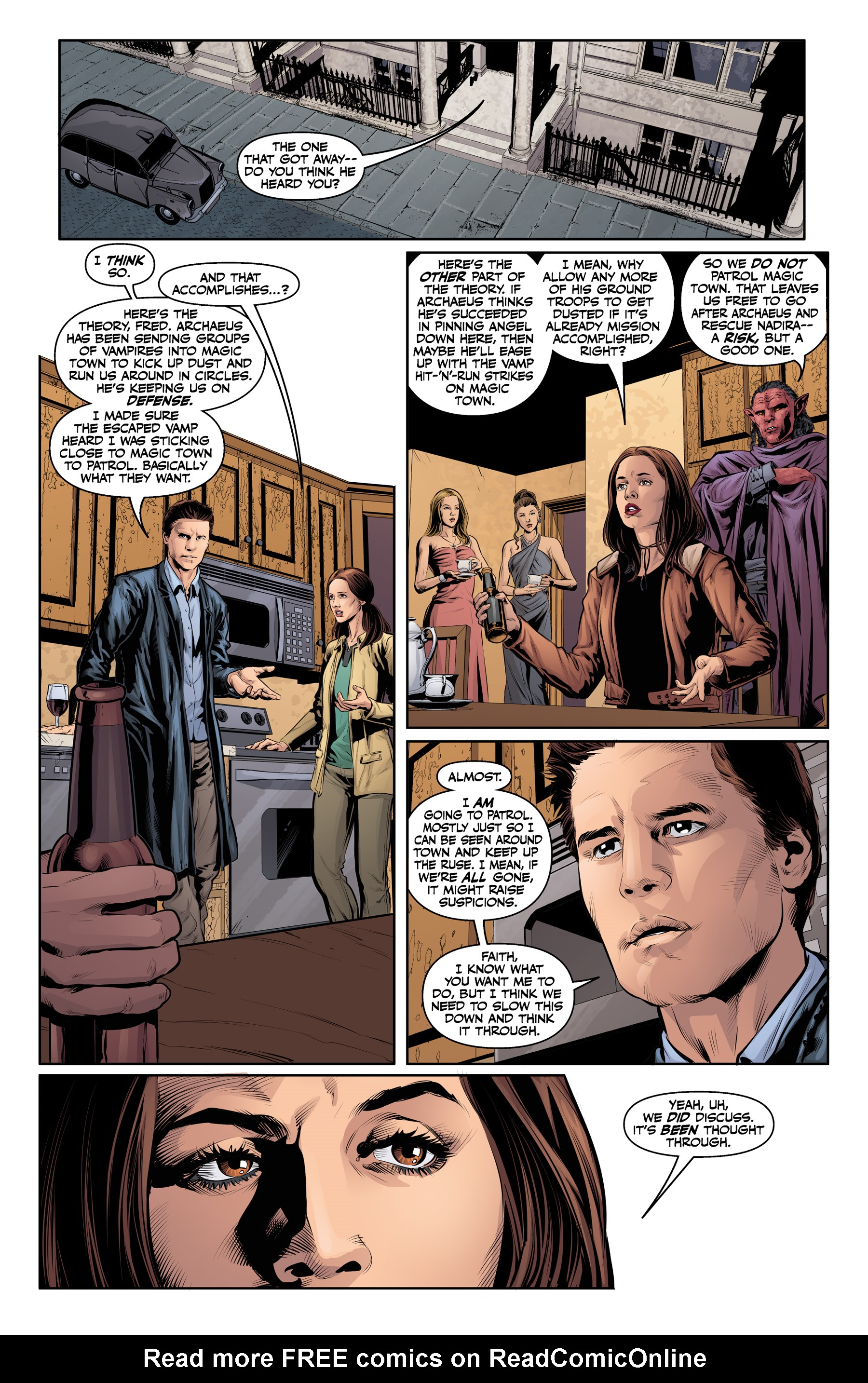 Read online Angel & Faith Season 10 comic -  Issue #21 - 8