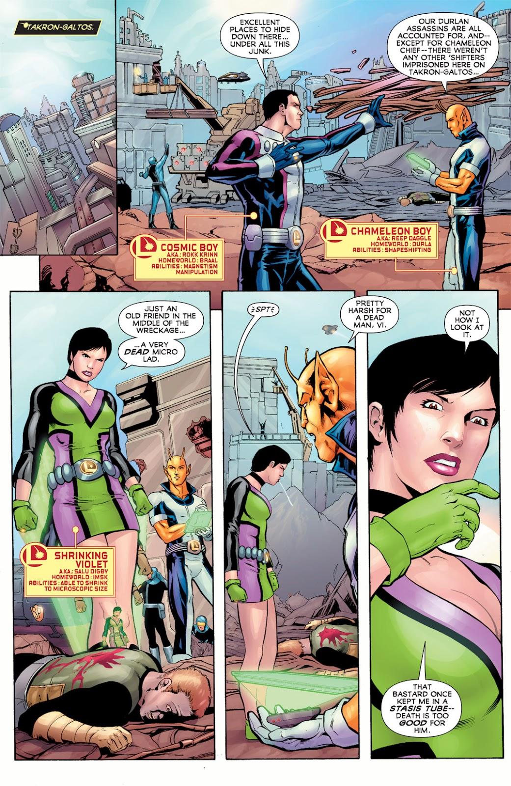 Legion of Super-Heroes (2010) Issue #11 #12 - English 8