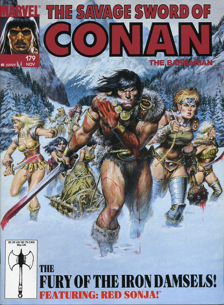 The Savage Sword Of Conan Issue #179 #180 - English 1