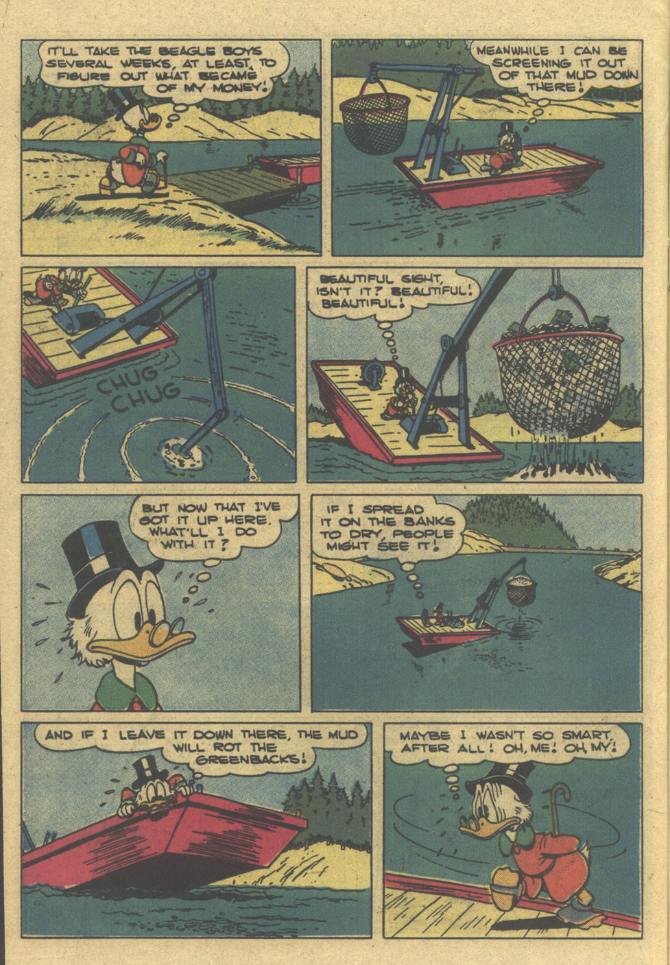 Uncle Scrooge (1953) Issue #195 #195 - English 14