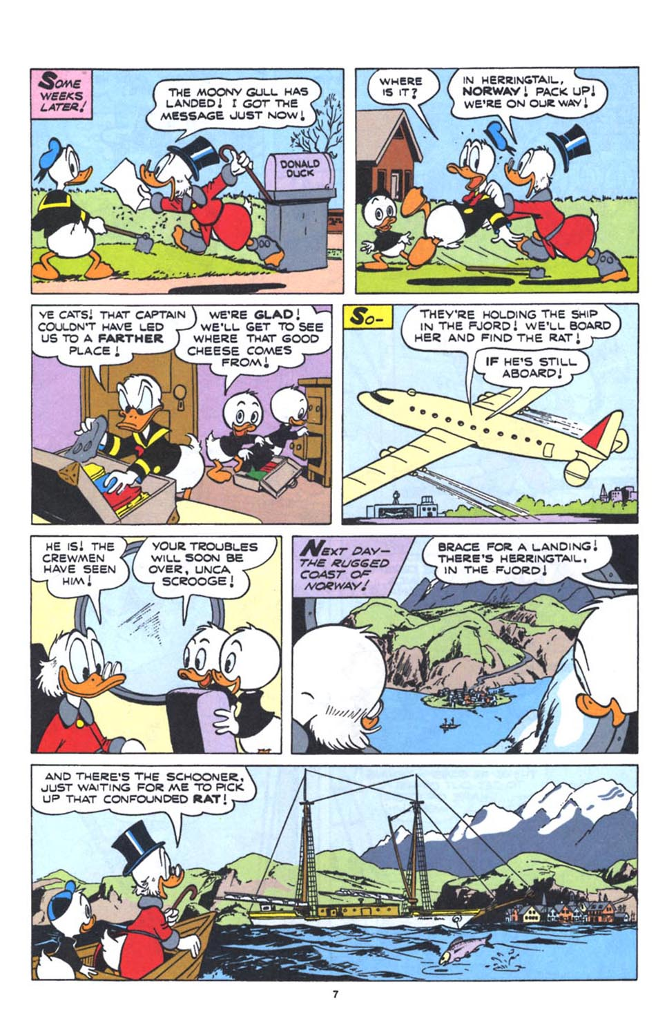 Uncle Scrooge (1953) Issue #250 #250 - English 9