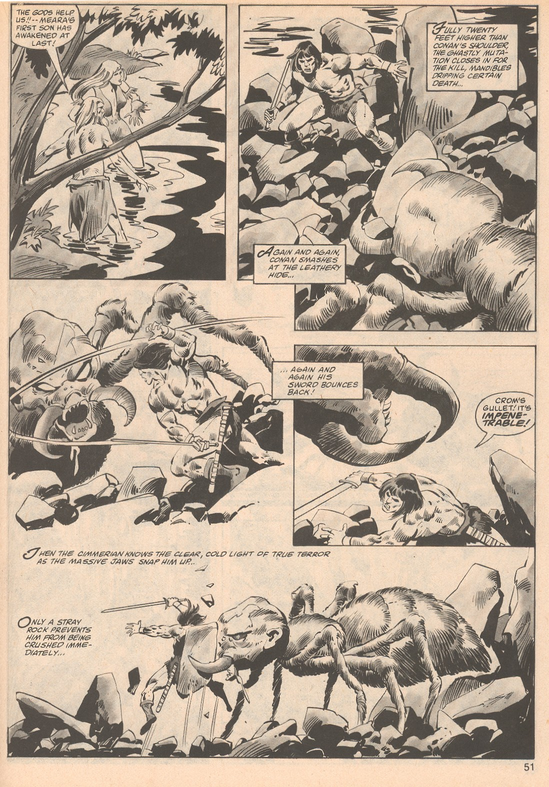 The Savage Sword Of Conan Issue #70 #71 - English 51