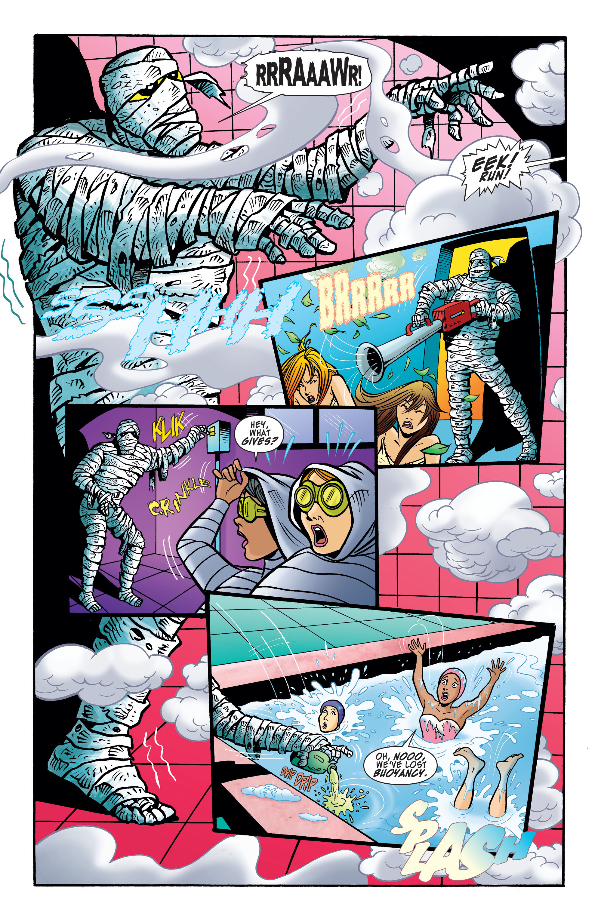 Read online Scooby-Doo: Where Are You? comic -  Issue #62 - 9