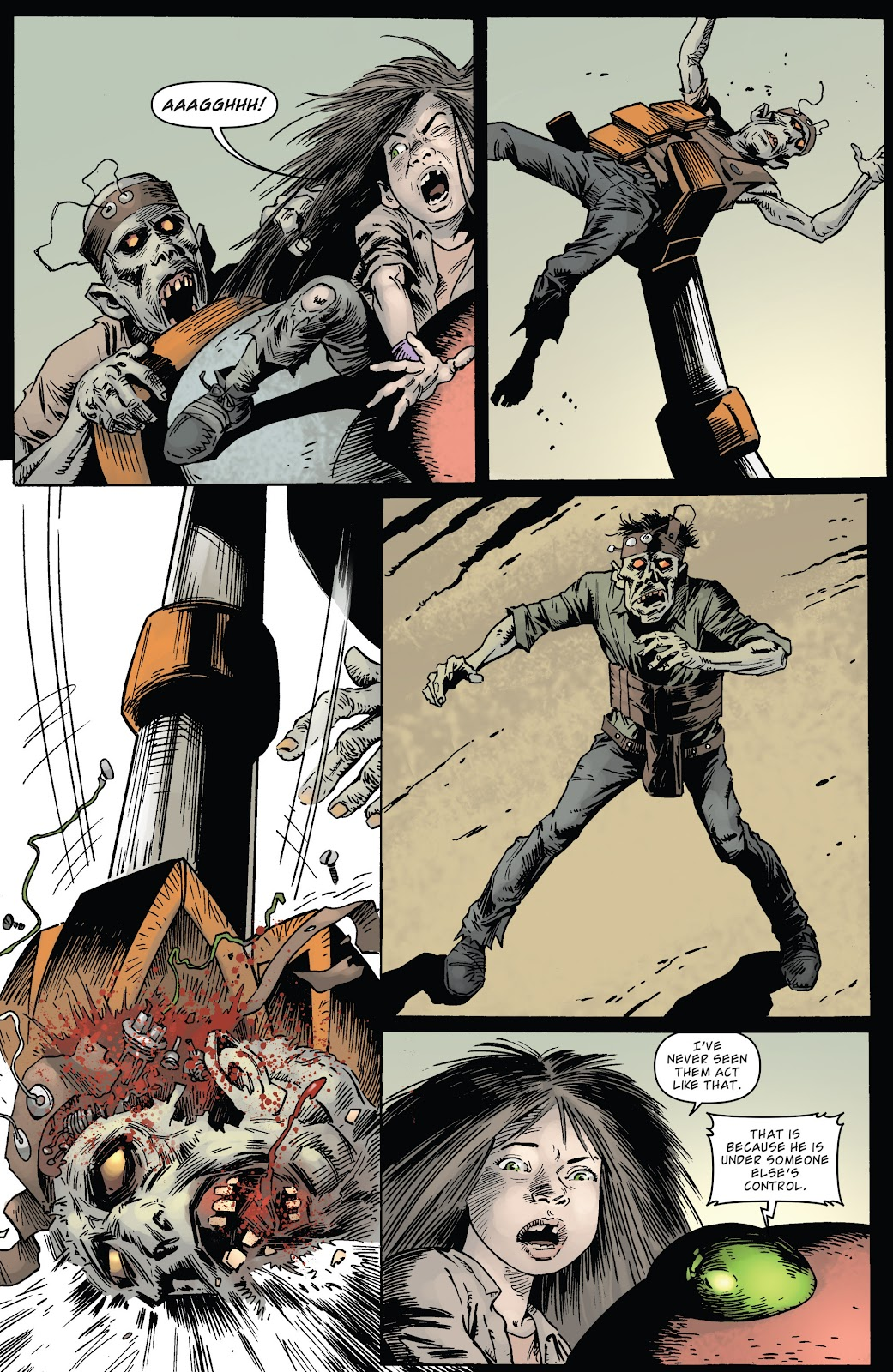 Zombies vs Robots (2015) Issue #5 Page 22