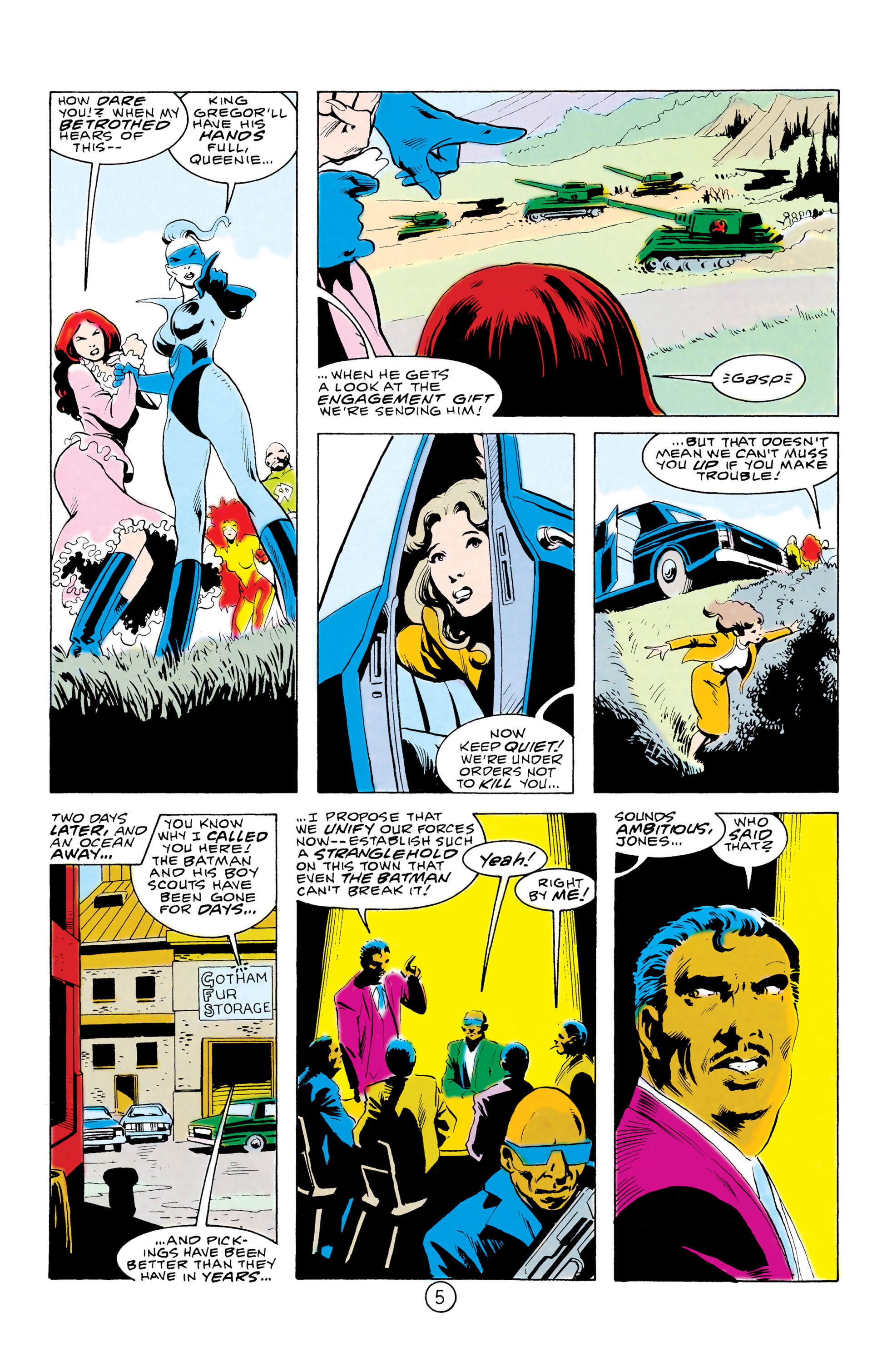 Batman and the Outsiders (1983) 32 Page 5