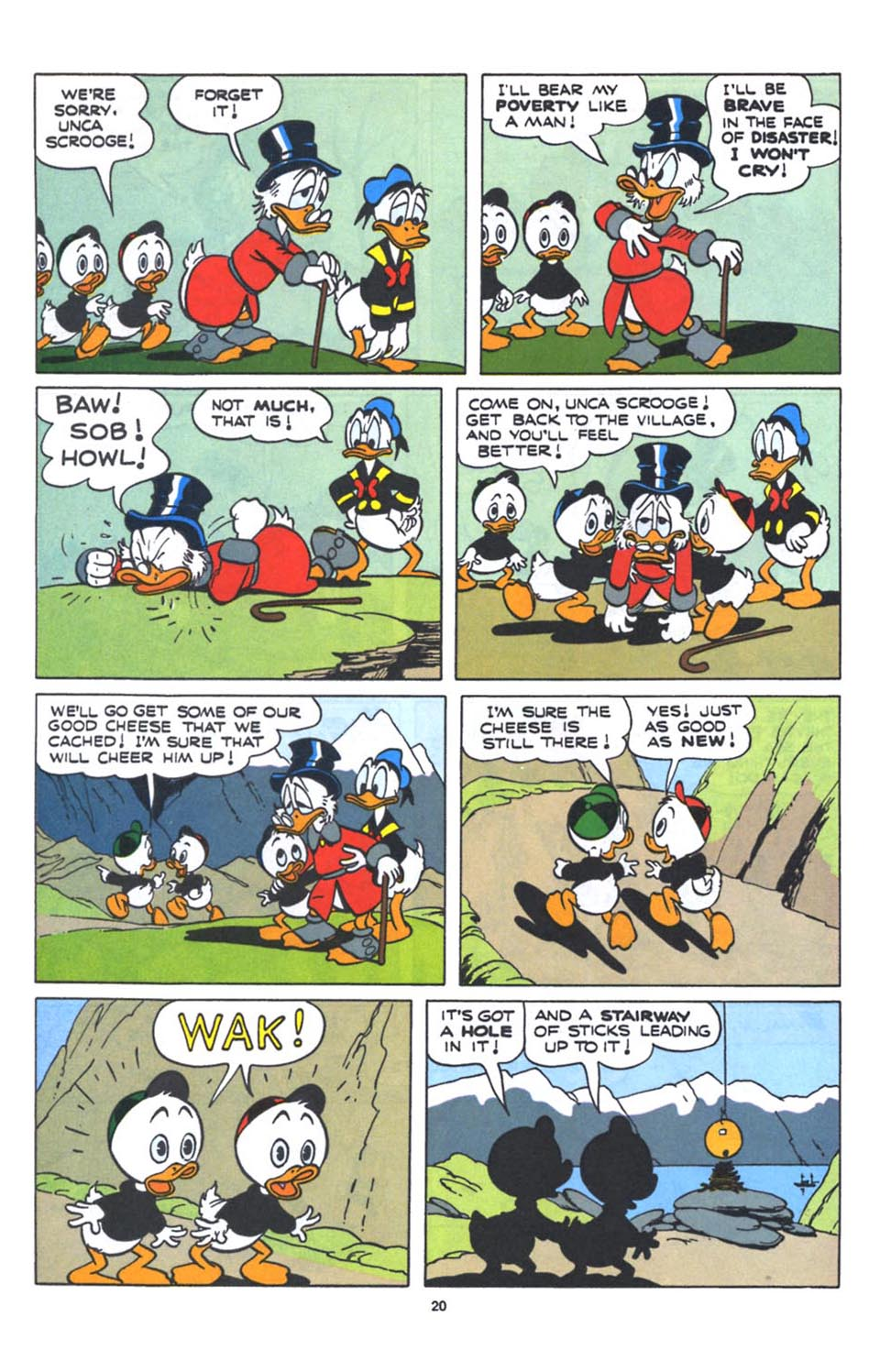 Uncle Scrooge (1953) Issue #250 #250 - English 22