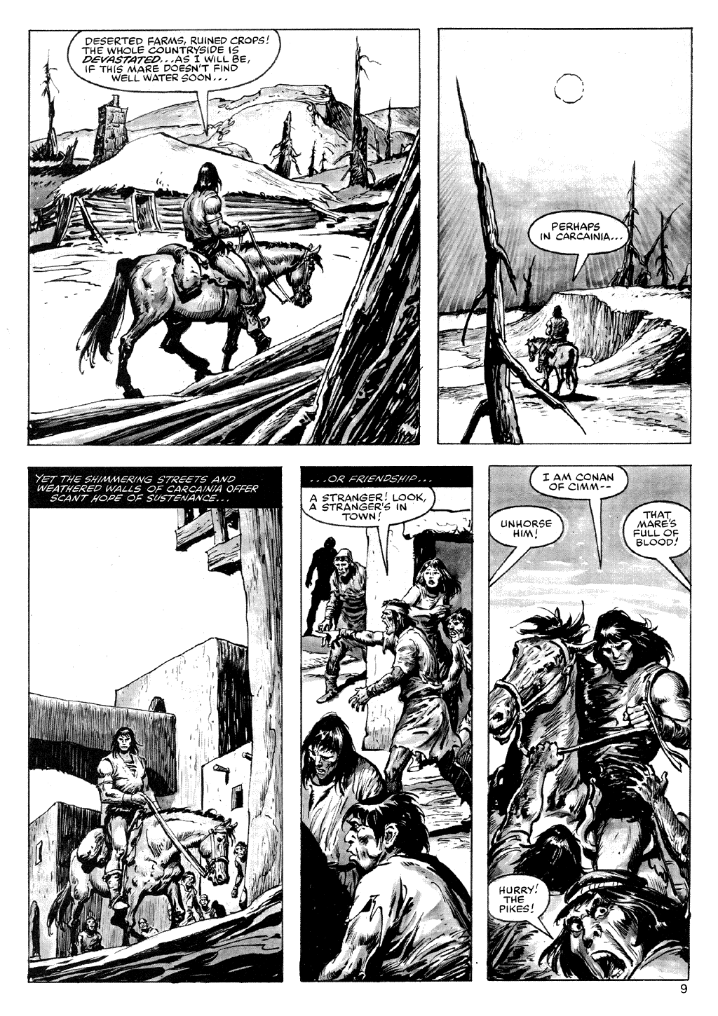The Savage Sword Of Conan Issue #72 #73 - English 9