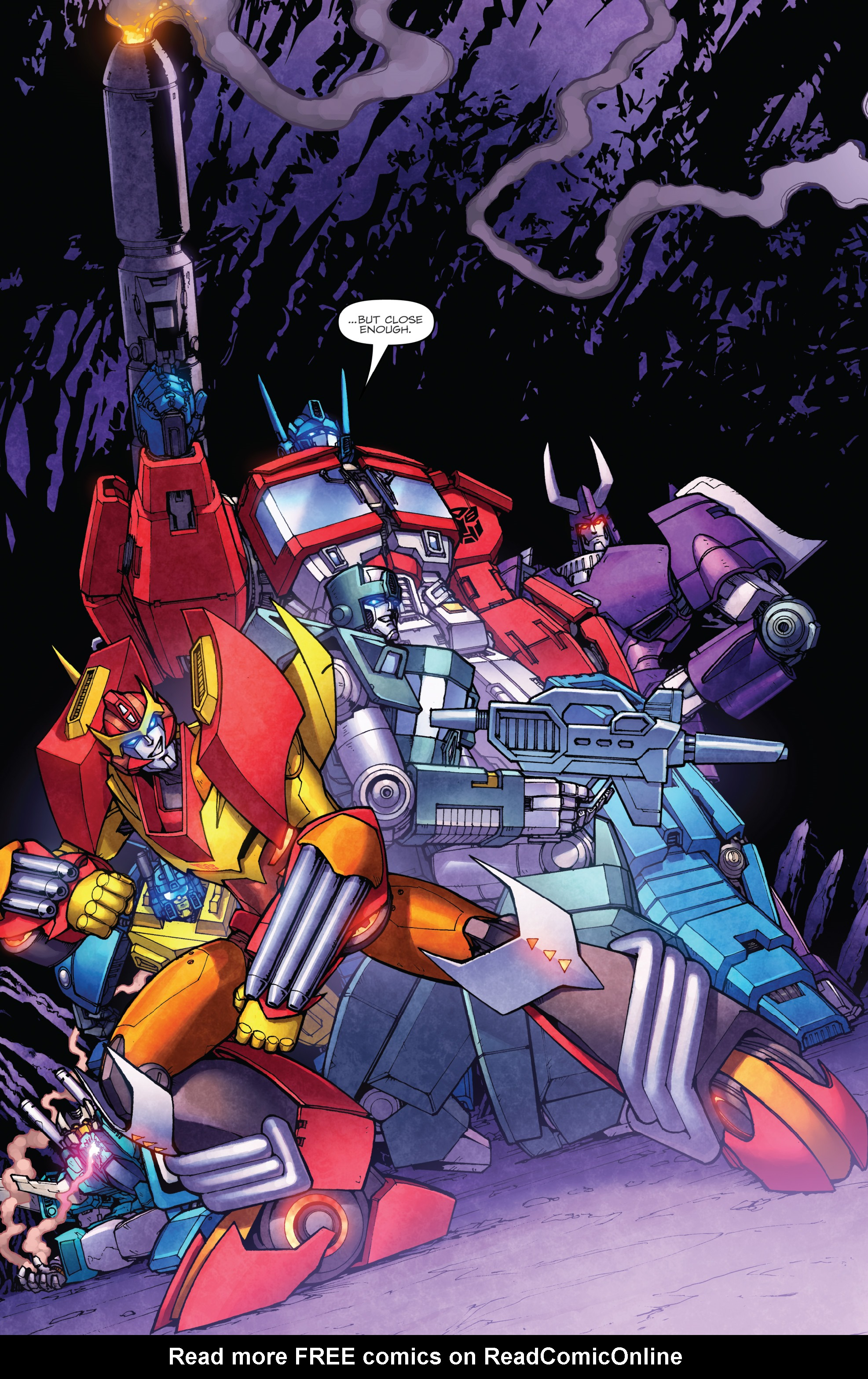 Read online The Transformers: Dark Cybertron Finale comic -  Issue # Full - 123