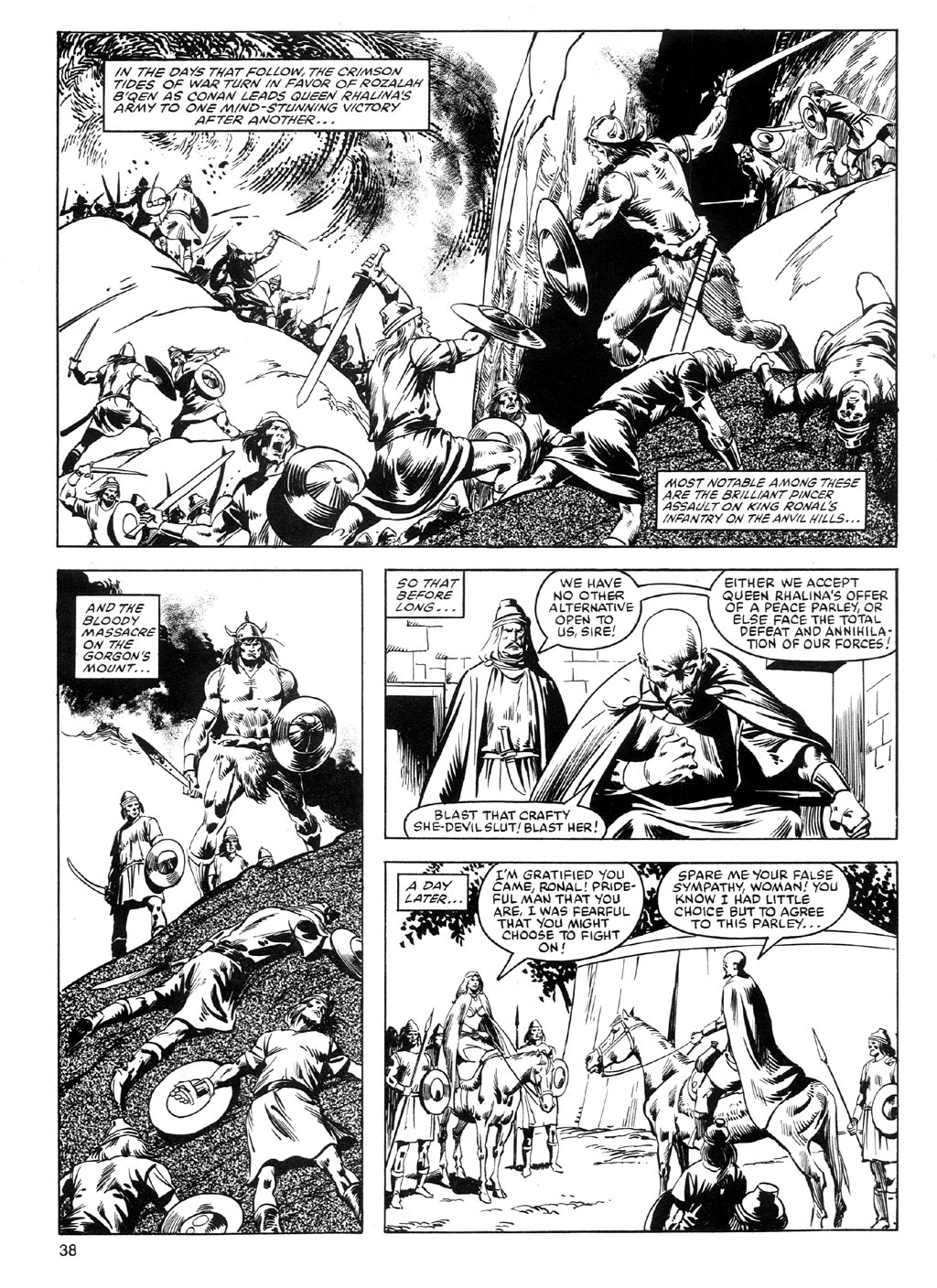 The Savage Sword Of Conan Issue #91 #92 - English 37
