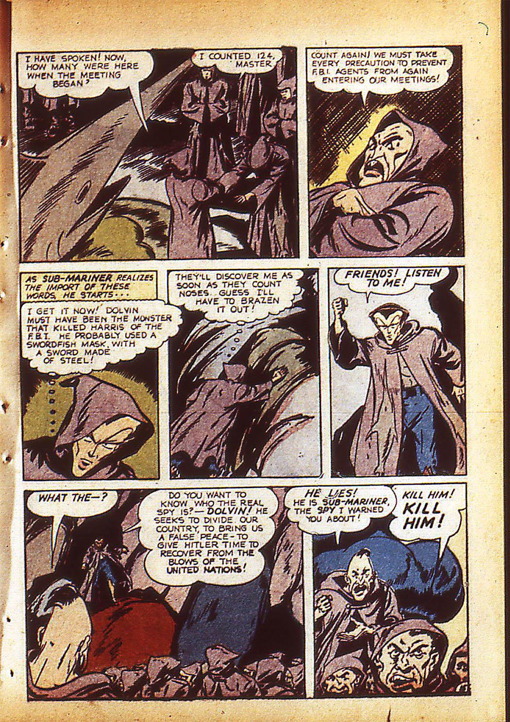 Sub-Mariner Comics Issue #10 #10 - English 18