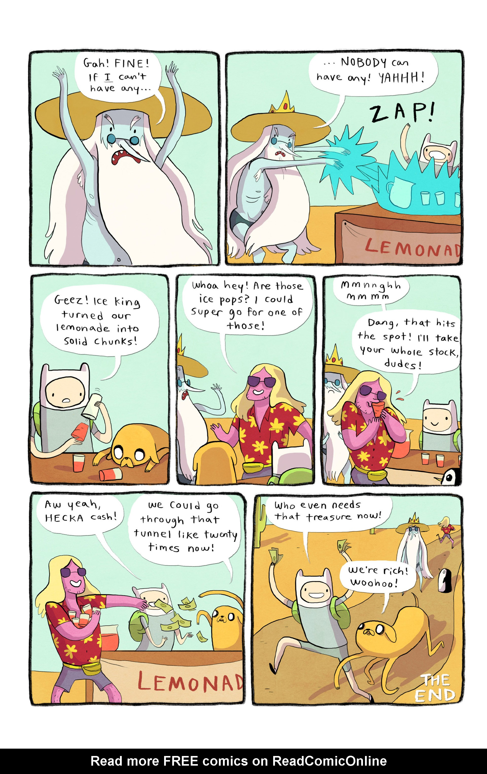 Read online Adventure Time 2013 Summer Special comic -  Issue #Adventure Time 2013 Summer Special Full - 11