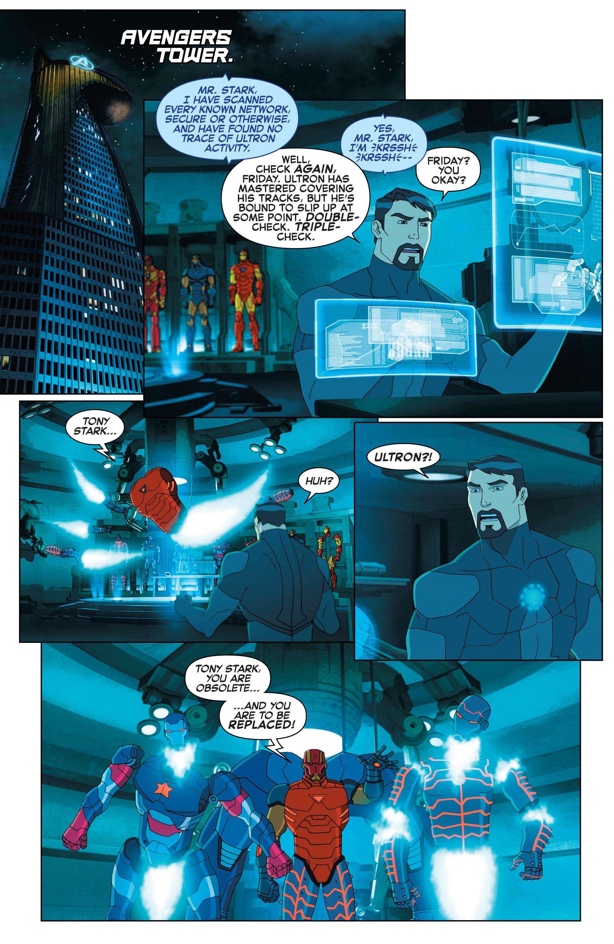 Read online Marvel Universe Avengers: Ultron Revolution comic -  Issue #2 - 8