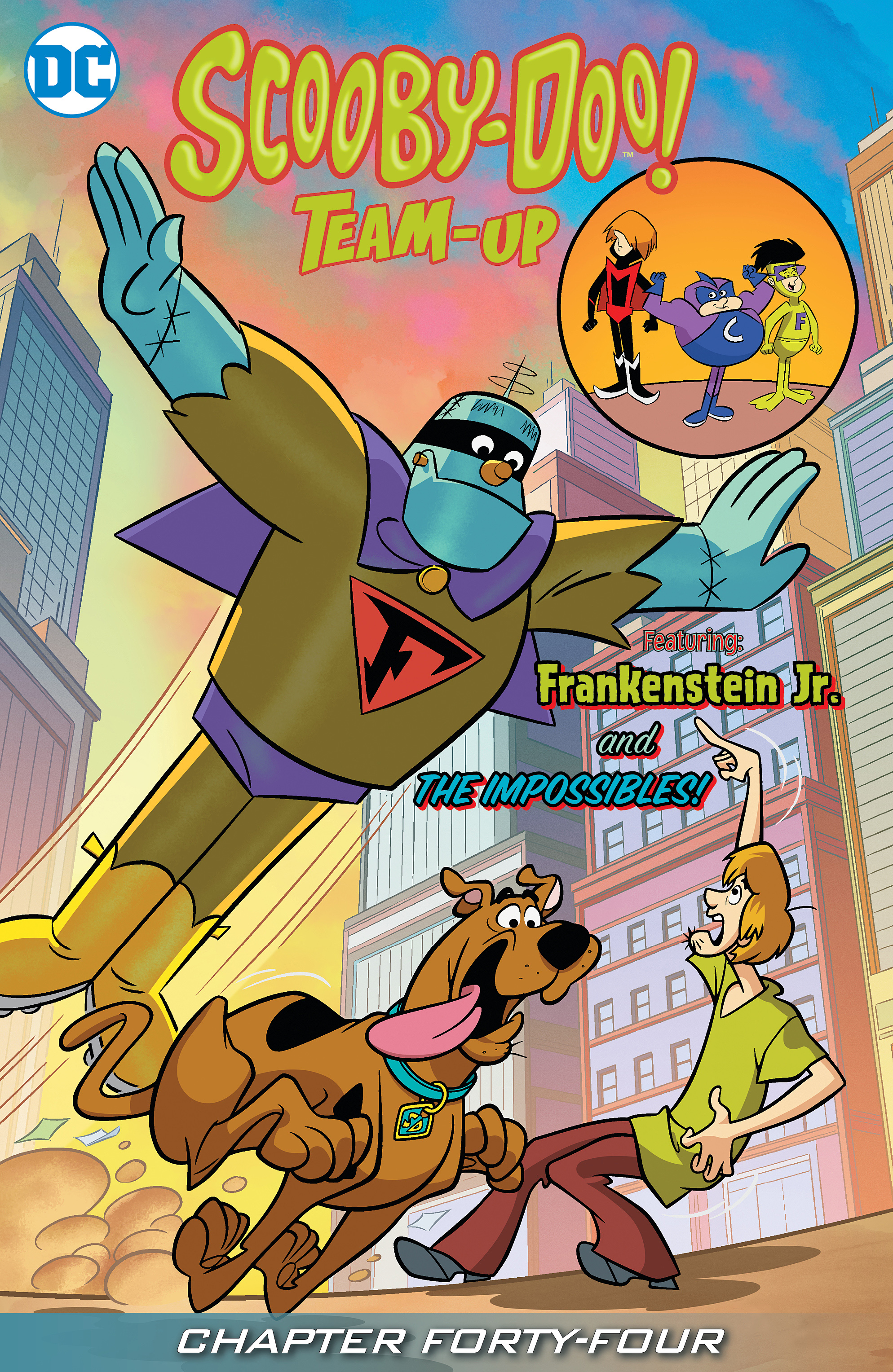 Read online Scooby-Doo! Team-Up comic -  Issue #44 - 2